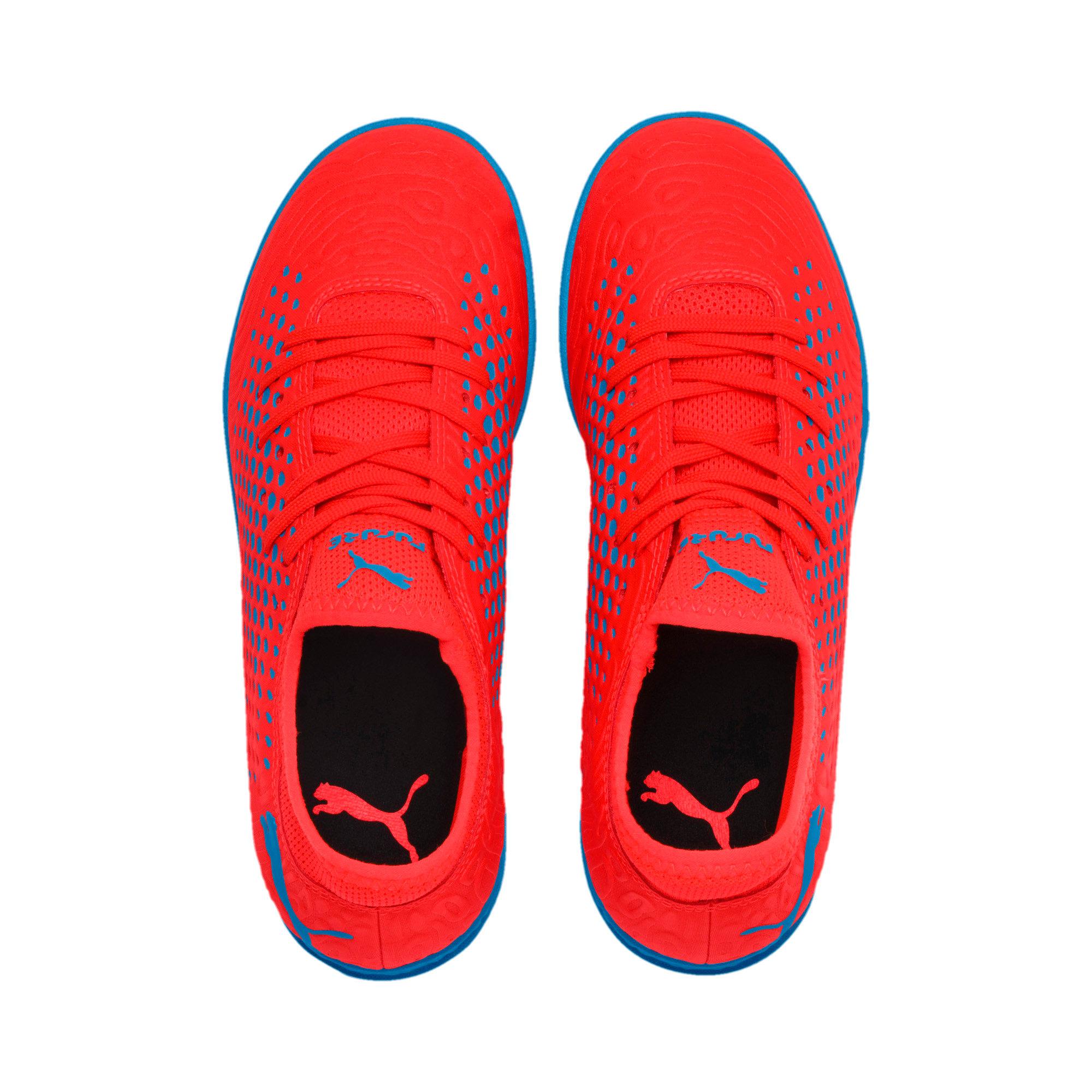 Thumbnail 6 of FUTURE 19.4 TT Soccer Shoes JR, Red Blast-Bleu Azur, medium