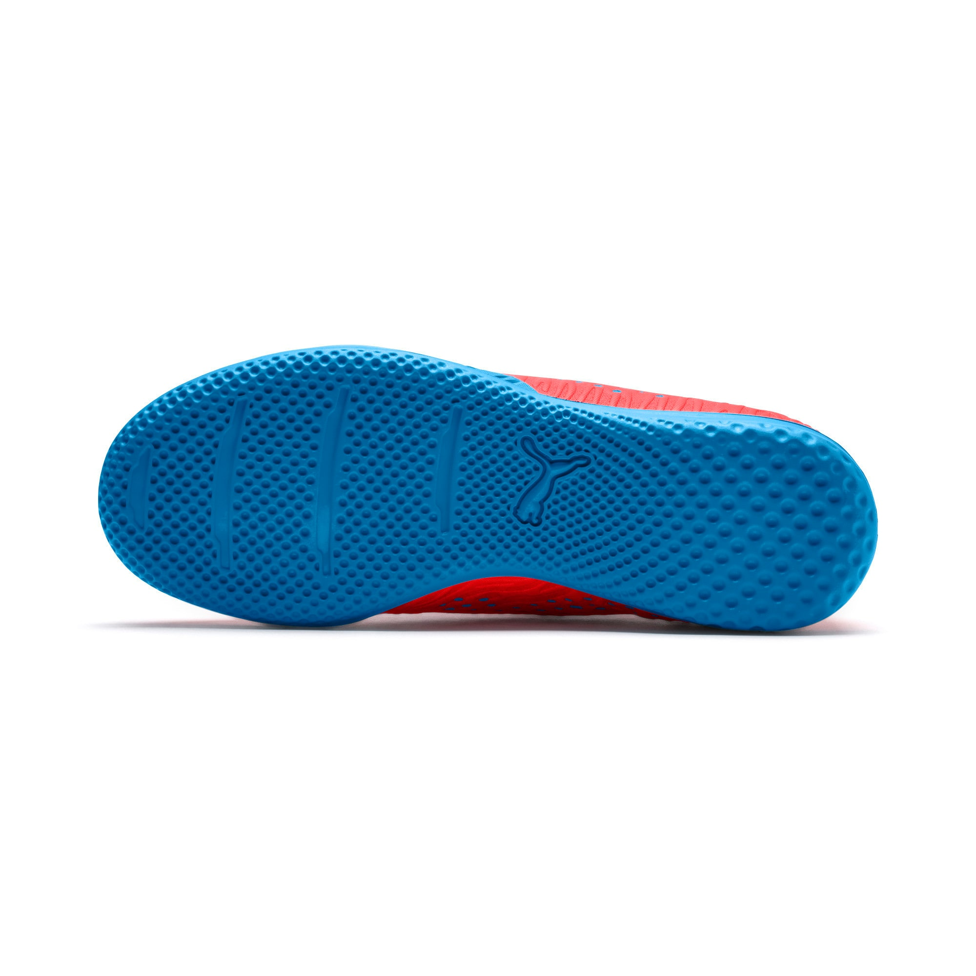 Thumbnail 4 of FUTURE 19.4 IT Soccer Shoes JR, Red Blast-Bleu Azur, medium