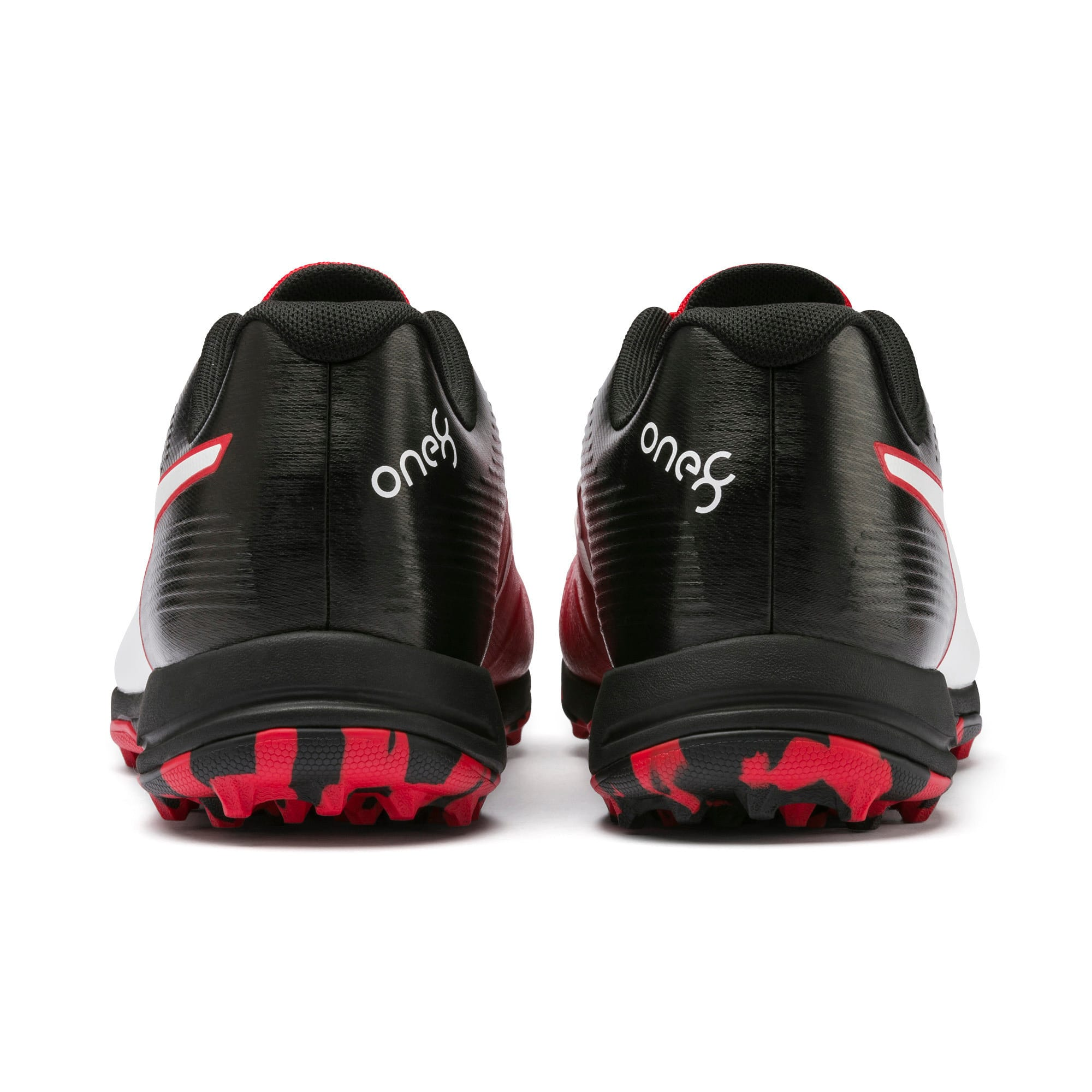 Thumbnail 3 of PUMA 19 FH Rubber Men's Cricket Shoes, High Risk Red-Black-White, medium-IND