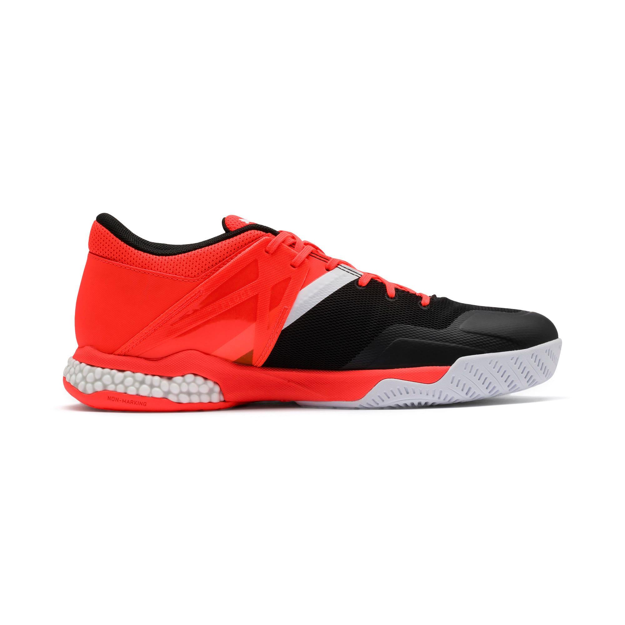 Thumbnail 6 of Chaussures Handball Explode XT Hybrid 2 Training, Black-Puma White-Nrgy Red, medium