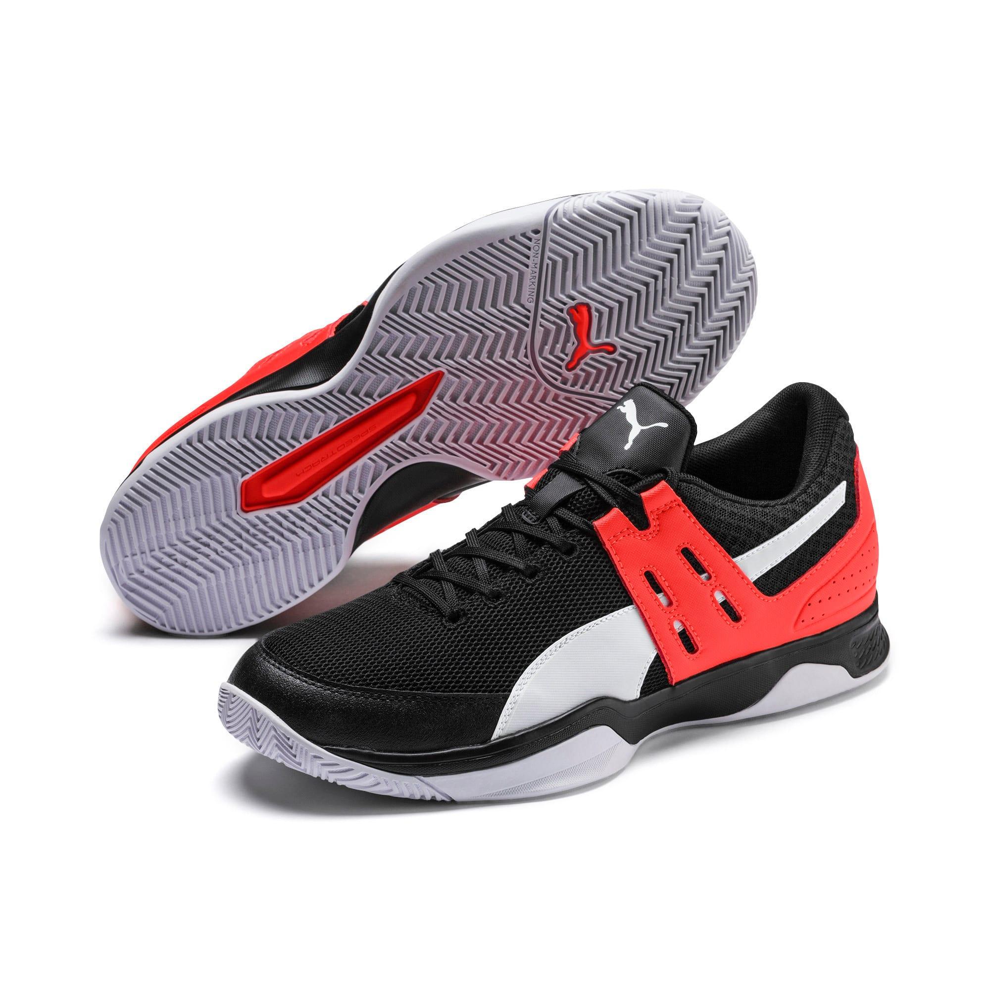 Thumbnail 3 of Boundless sportschoenen voor heren, Black-Nrgy Red-Puma White, medium
