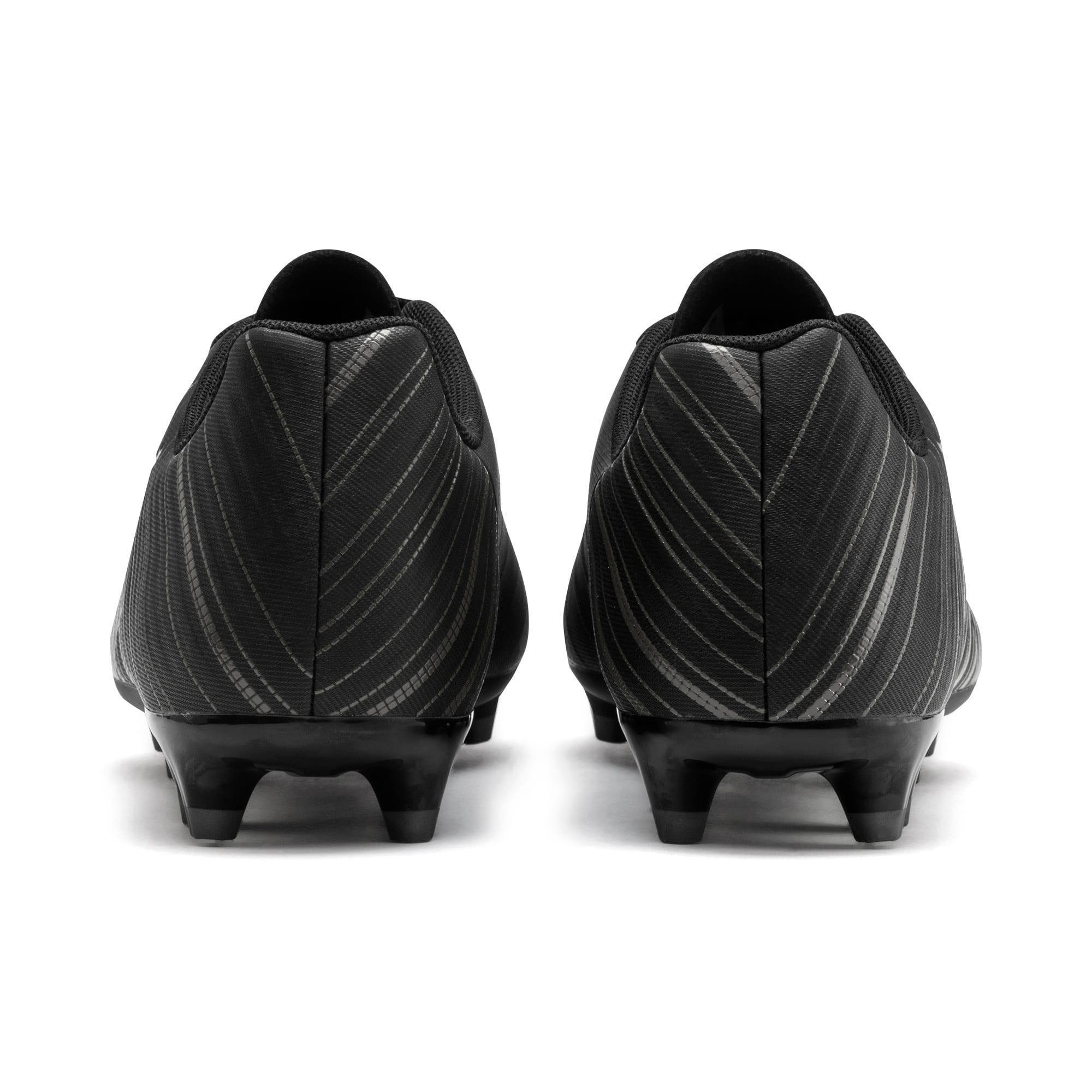 Thumbnail 4 of PUMA ONE 5.4 FG/AG Men's Soccer Cleats, Black-Black-Puma Aged Silver, medium