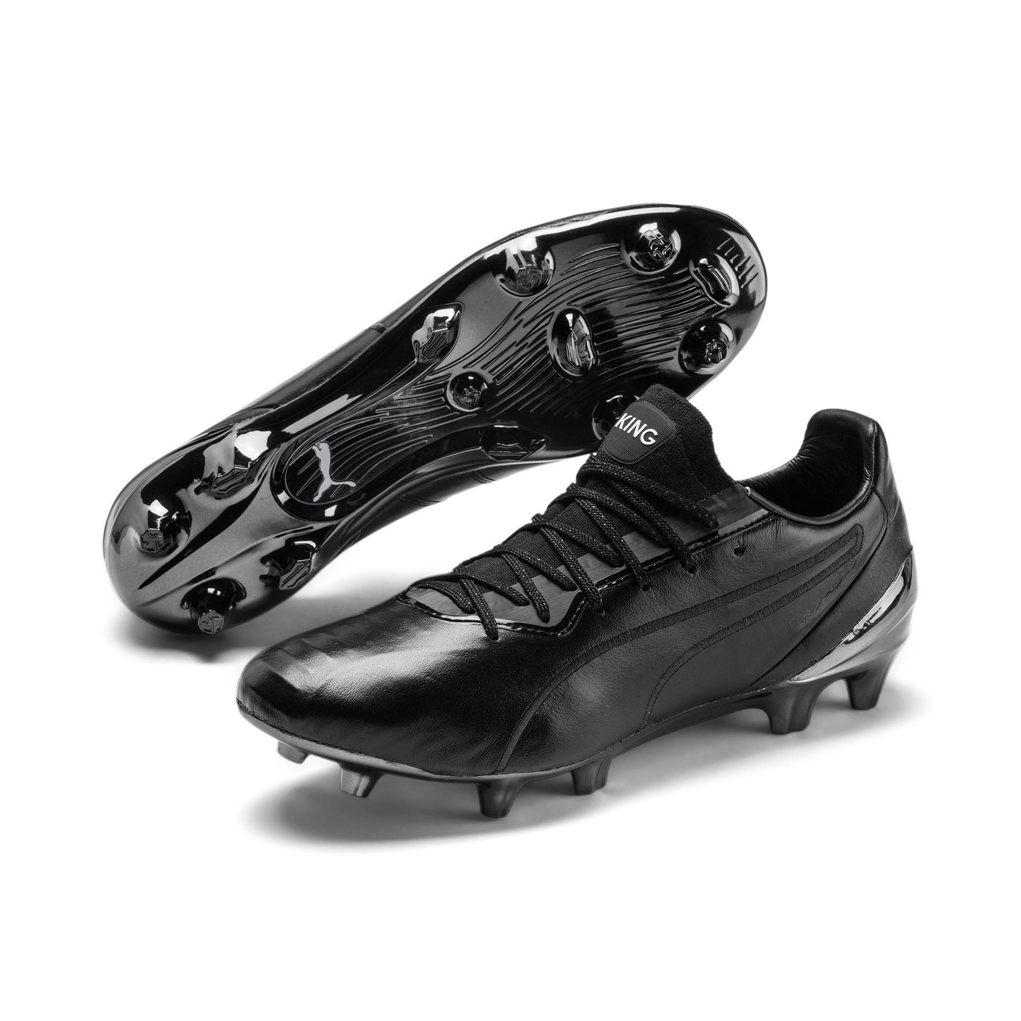 Thumbnail 3 of King Platinum FG/AG Men's Soccer Cleats, Puma Black-Puma White, medium