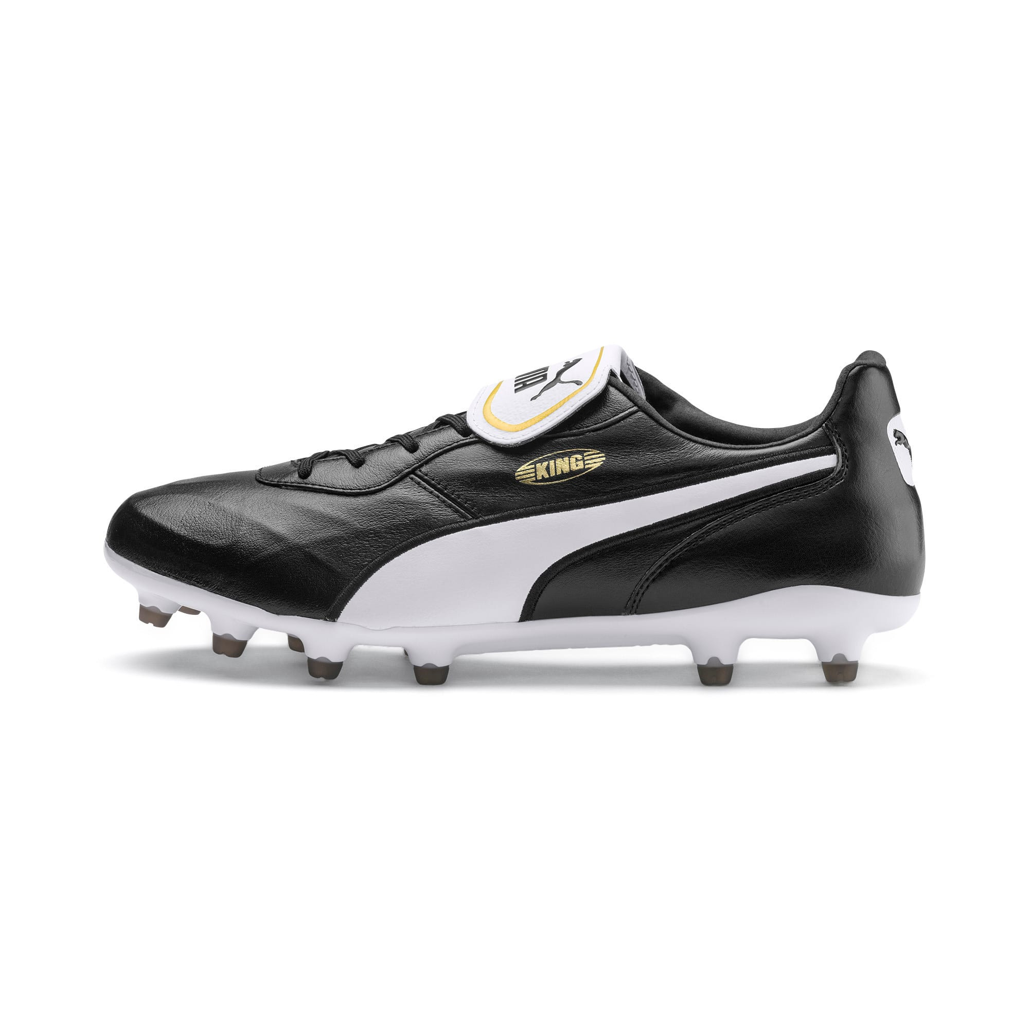 Thumbnail 1 van KING Top FG voetbalschoenen, Puma Black-Puma White, medium