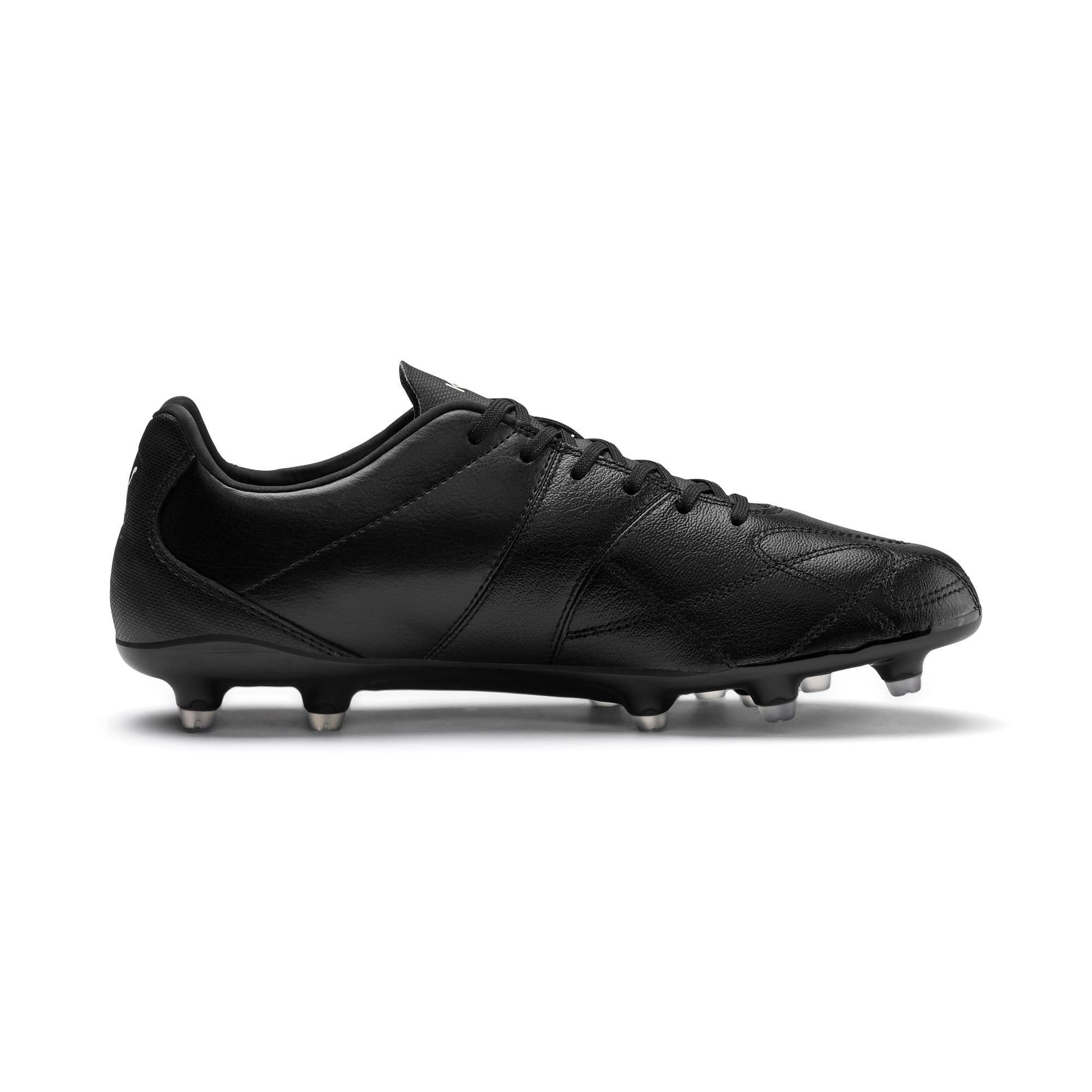 Thumbnail 7 of KING Hero FG Football Boots, Puma Black-Puma White, medium-IND