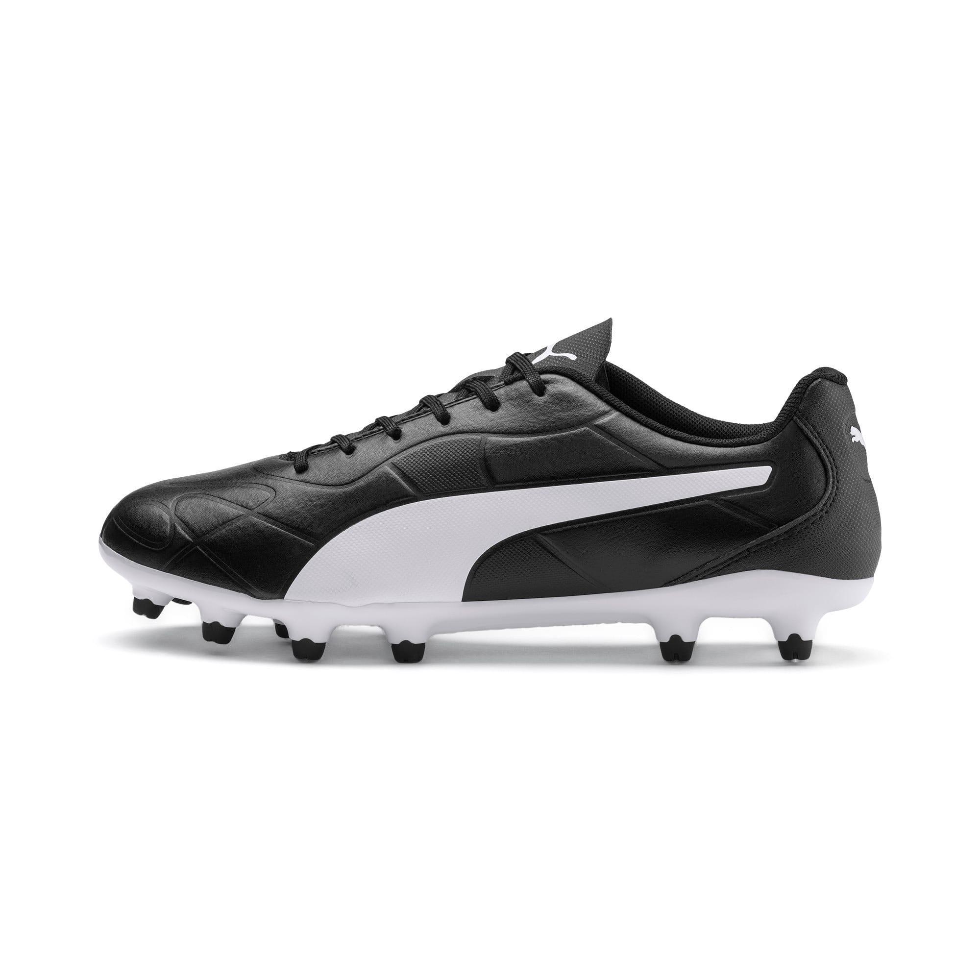 Thumbnail 1 of Monarch FG Men's Football Boots, Puma Black-Puma White, medium-IND