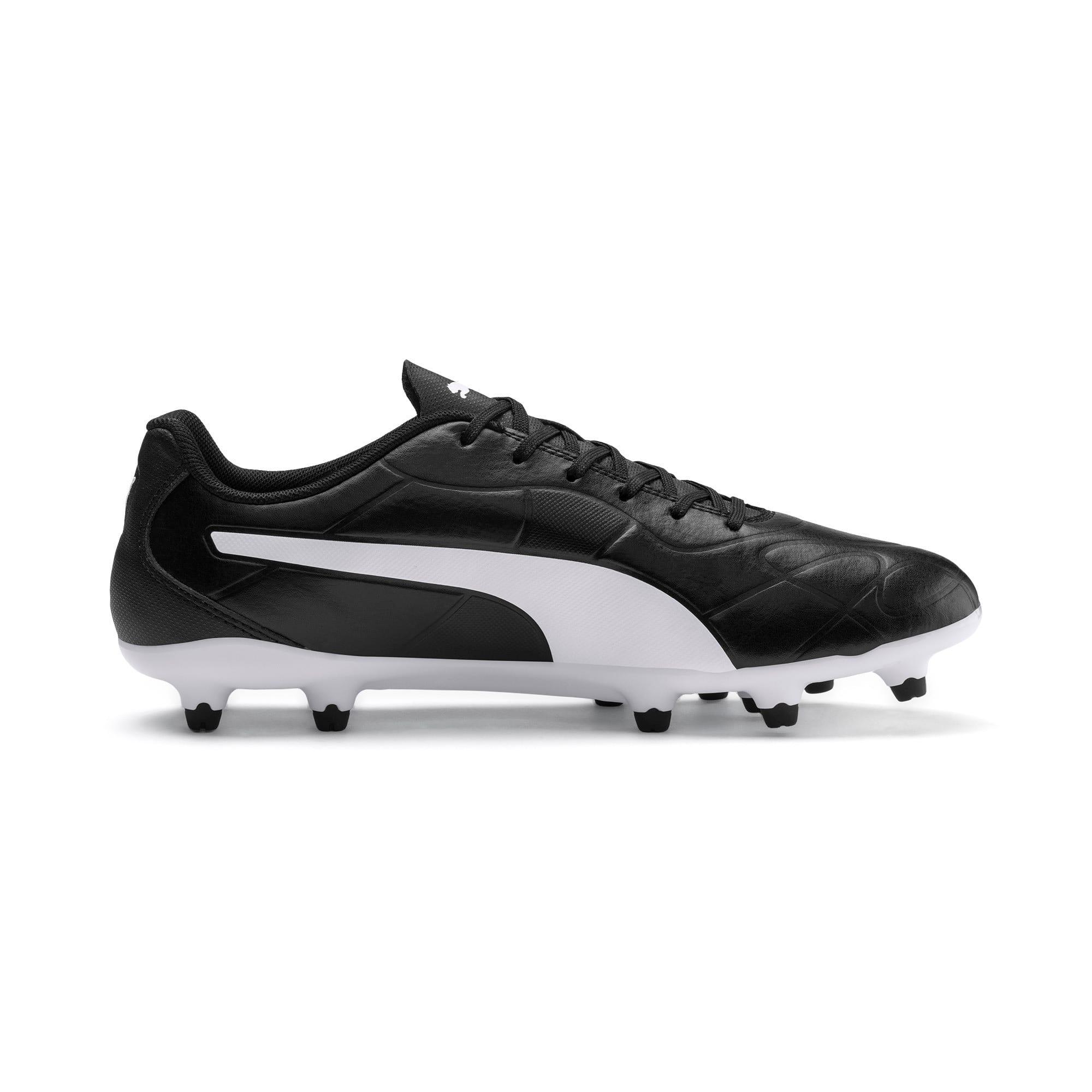 Thumbnail 7 of Monarch FG Men's Football Boots, Puma Black-Puma White, medium-IND