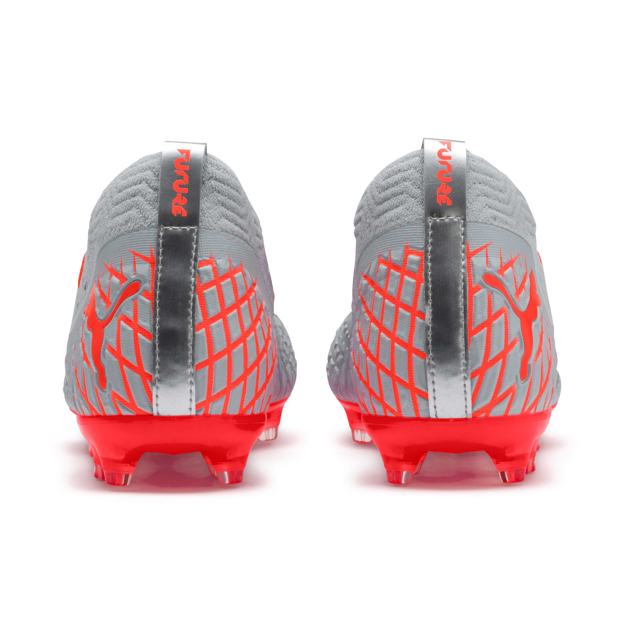 Thumbnail 4 of FUTURE 4.2 NETFIT FG/AG Men's Football Boots, Glacial Blue-Nrgy Red, medium