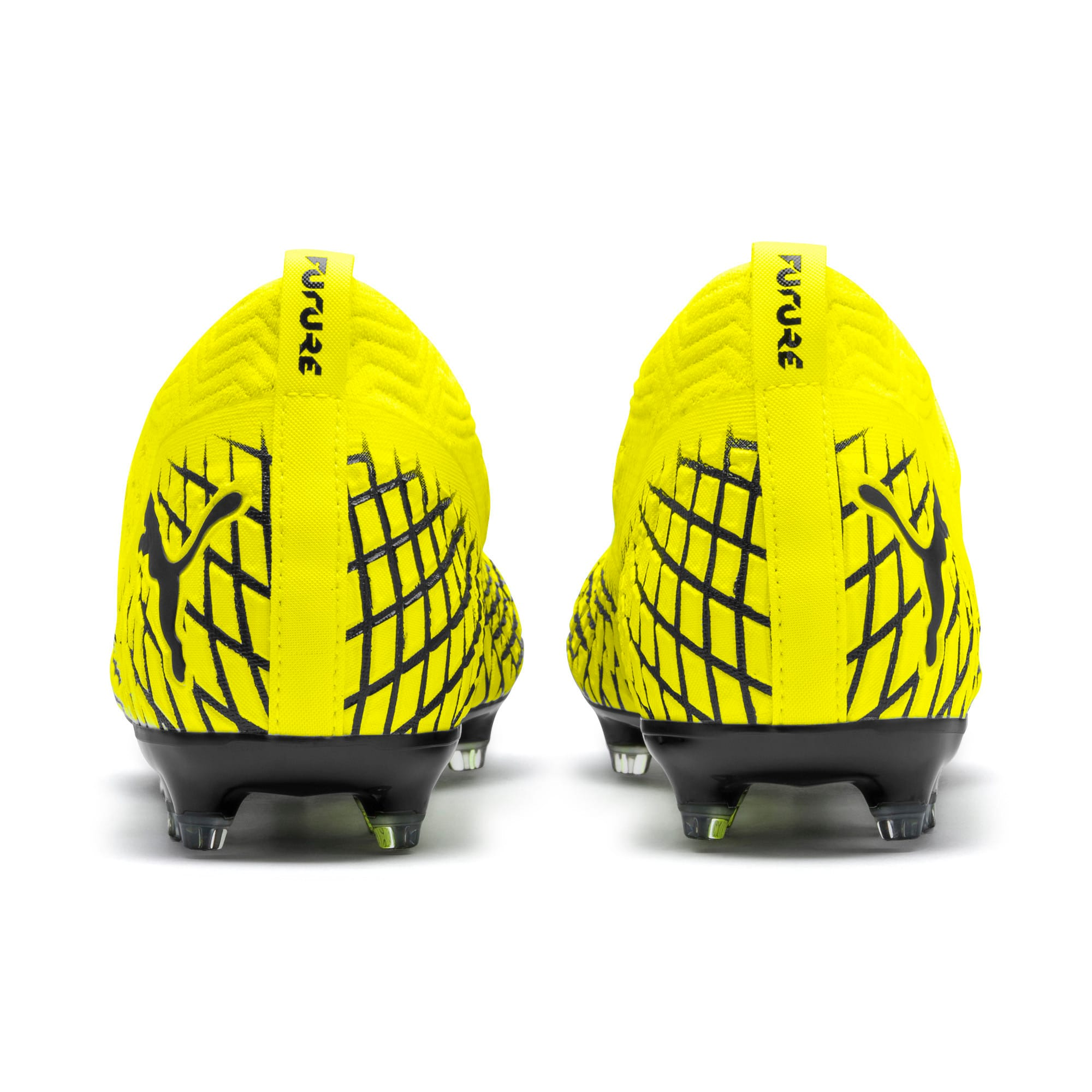 Thumbnail 4 of FUTURE 4.2 NETFIT FG/AG voetbalschoenen voor heren, Yellow Alert-Puma Black, medium