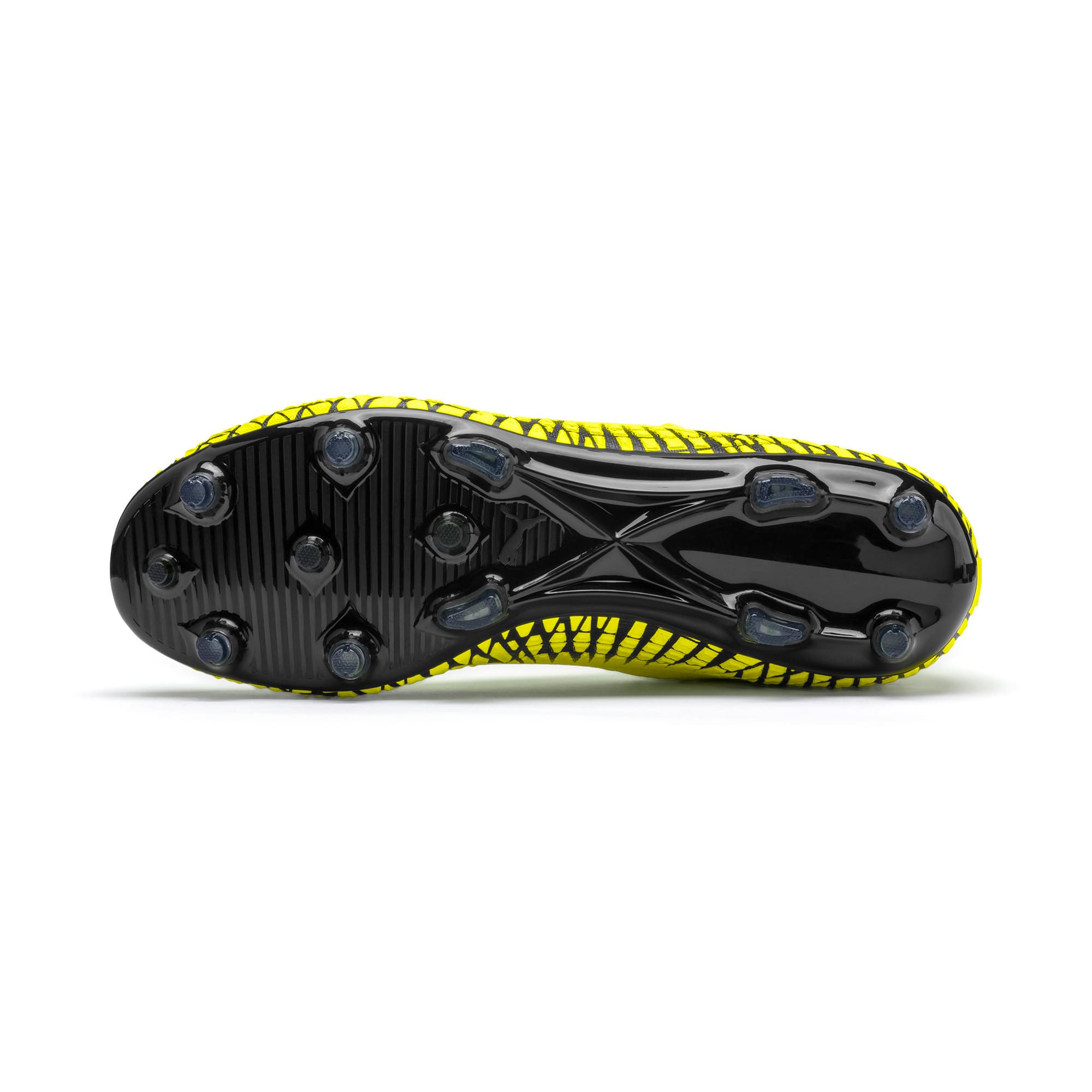 Thumbnail 5 of FUTURE 4.2 NETFIT FG/AG voetbalschoenen voor heren, Yellow Alert-Puma Black, medium