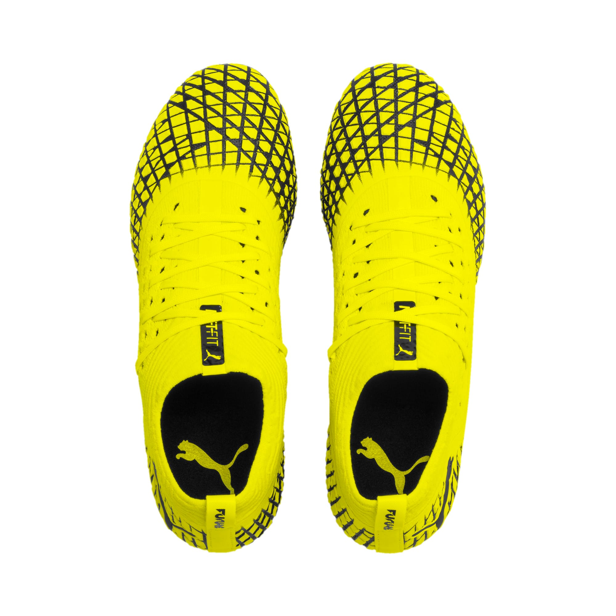 Thumbnail 7 of FUTURE 4.2 NETFIT FG/AG voetbalschoenen voor heren, Yellow Alert-Puma Black, medium