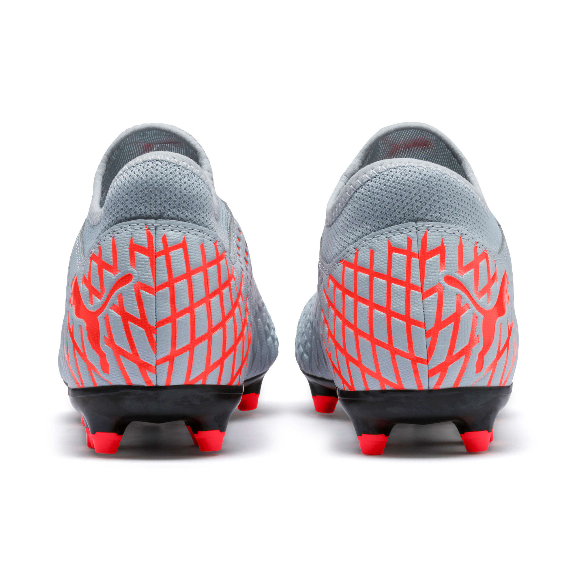 Thumbnail 5 of FUTURE 4.4 FG/AG Men's Football Boots, Glacial Blue-Nrgy Red, medium-IND