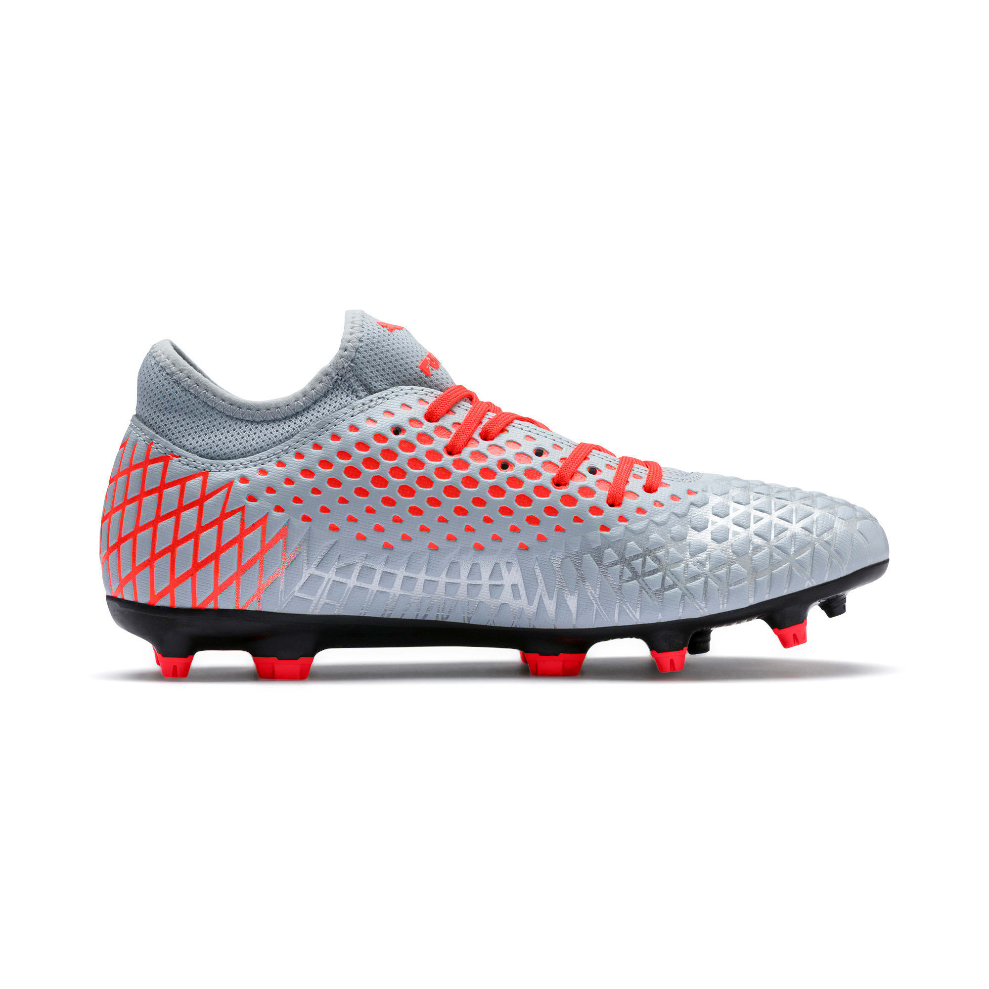 Thumbnail 6 of FUTURE 4.4 FG/AG Men's Football Boots, Glacial Blue-Nrgy Red, medium