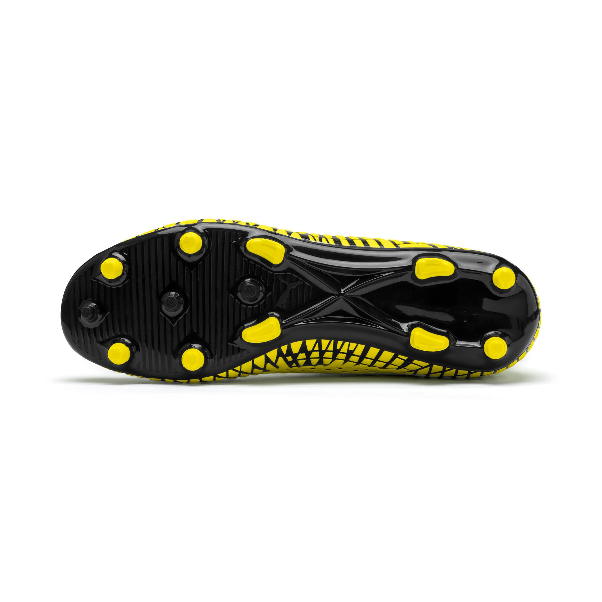 Thumbnail 5 of FUTURE 4.4 FG/AG Men's Football Boots, Yellow Alert-Puma Black, medium