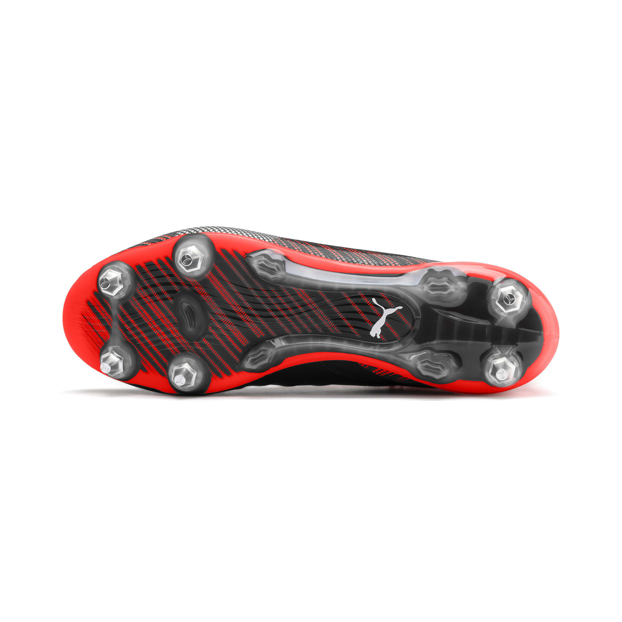 Thumbnail 5 of PUMA ONE 5.1 MxSG voetbalschoenen, Black-Nrgy Red-Aged Silver, medium