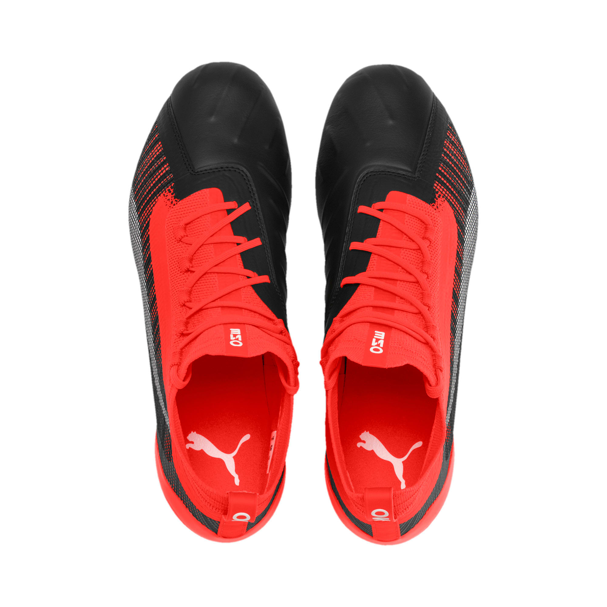 Thumbnail 7 of PUMA ONE 5.1 MxSG voetbalschoenen, Black-Nrgy Red-Aged Silver, medium