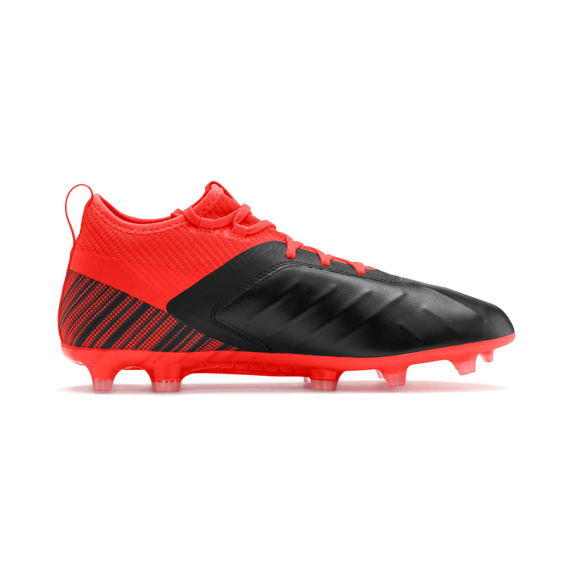 Thumbnail 6 of PUMA ONE 5.2 FG/AG Herren Fußballschuhe, Black-Nrgy Red-Aged Silver, medium