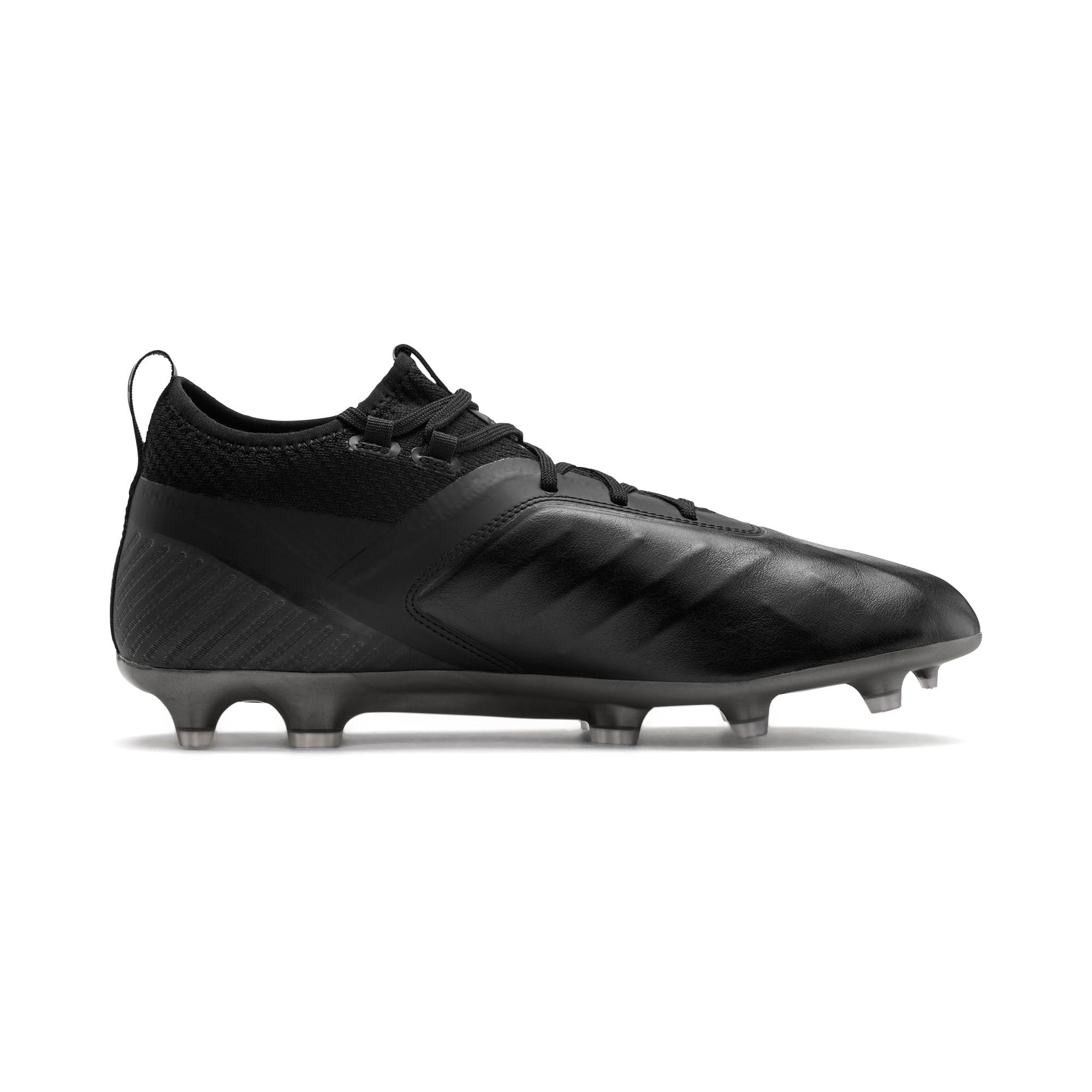PUMA ONE 5.2 Men's Football Boots, Black-Black-Puma Aged Silver, large