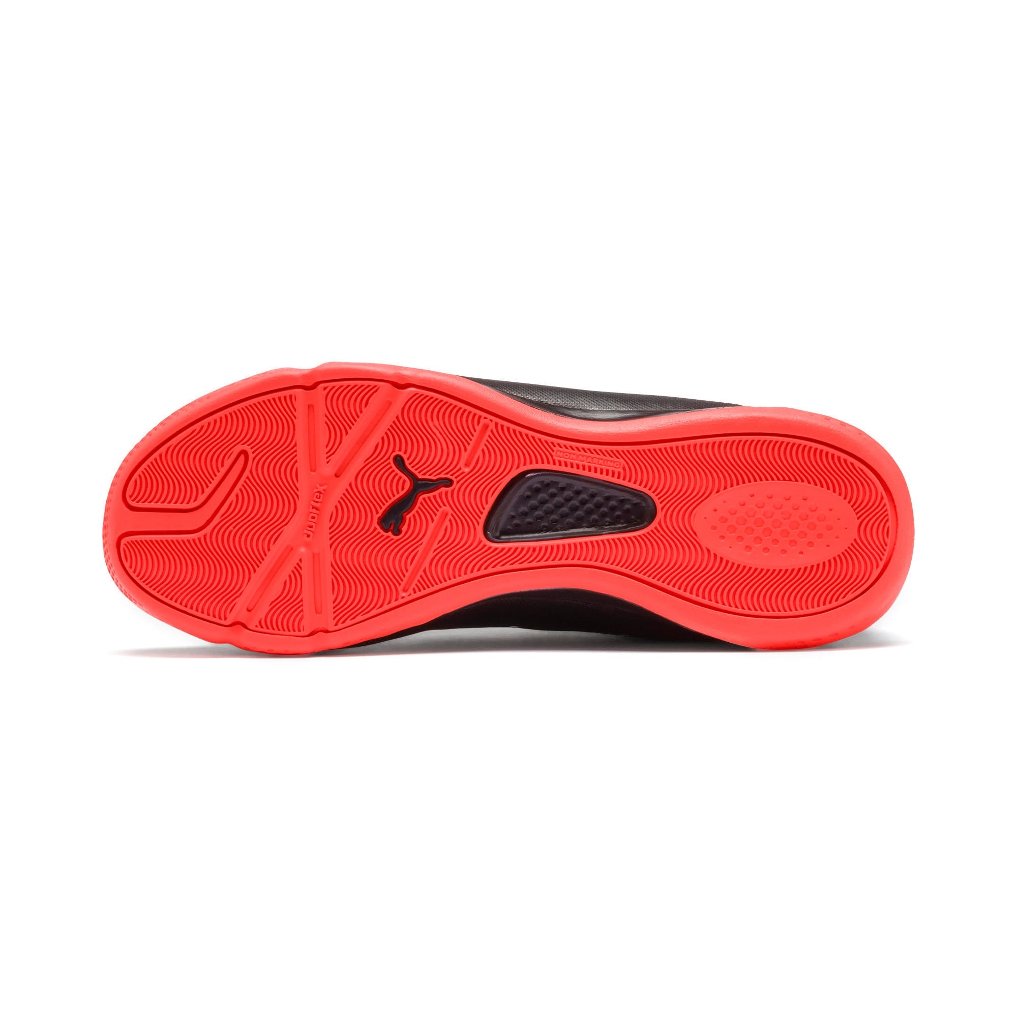 Thumbnail 4 of Sharp XT 2 Youth Trainers, Black-Puma White-Nrgy Red, medium-IND