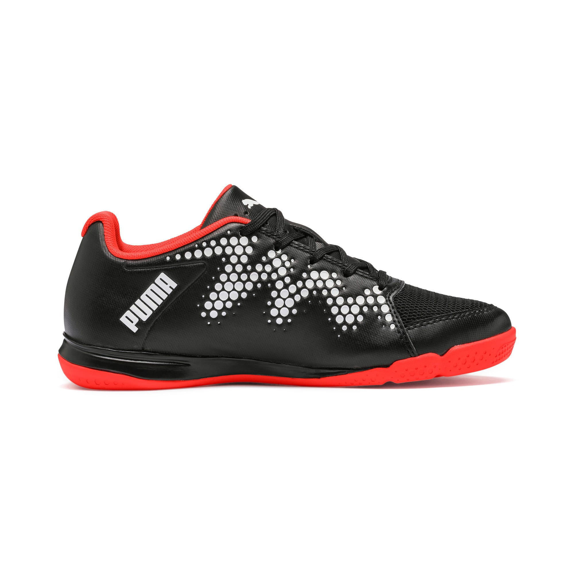 Thumbnail 5 of Sharp XT 2 Youth Trainers, Black-Puma White-Nrgy Red, medium-IND
