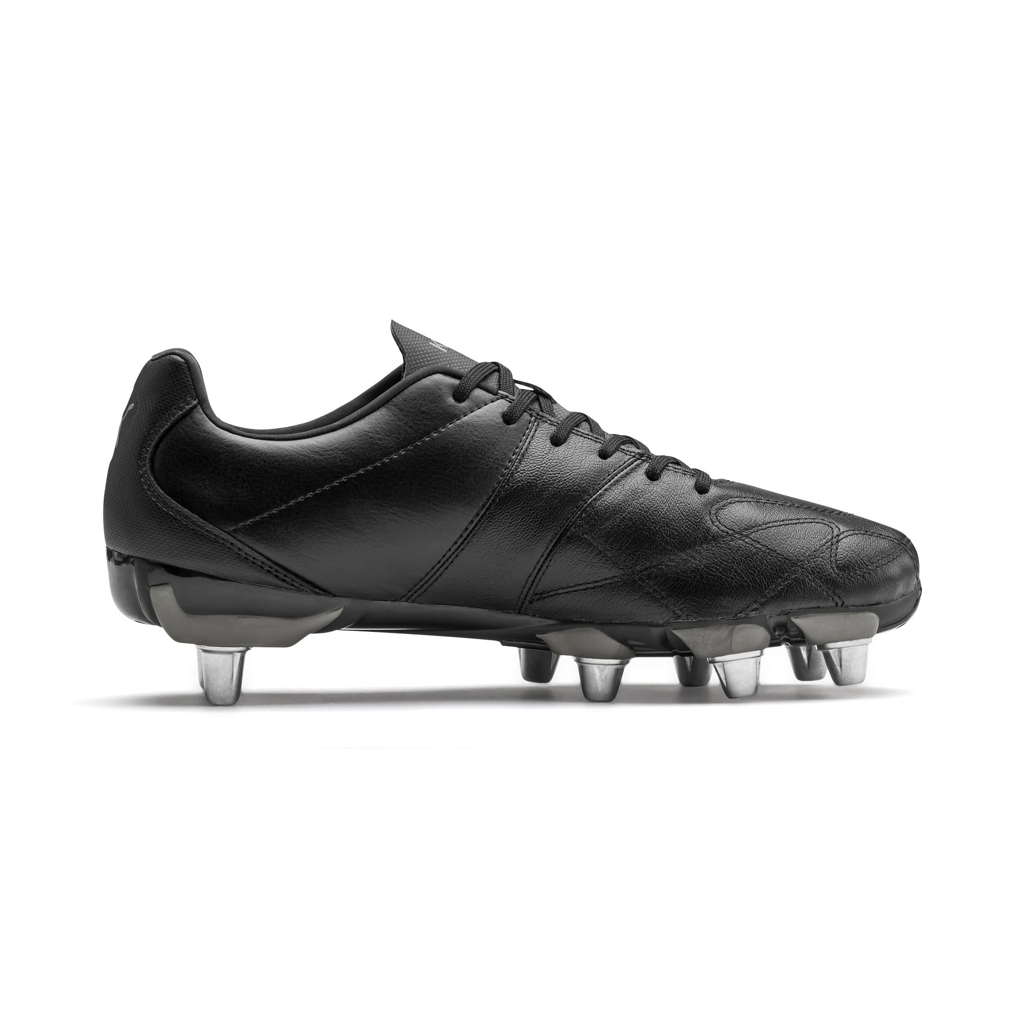 Thumbnail 5 of KING Hero H8 Men's Rugby Boots, Puma Black-Puma Aged Silver, medium