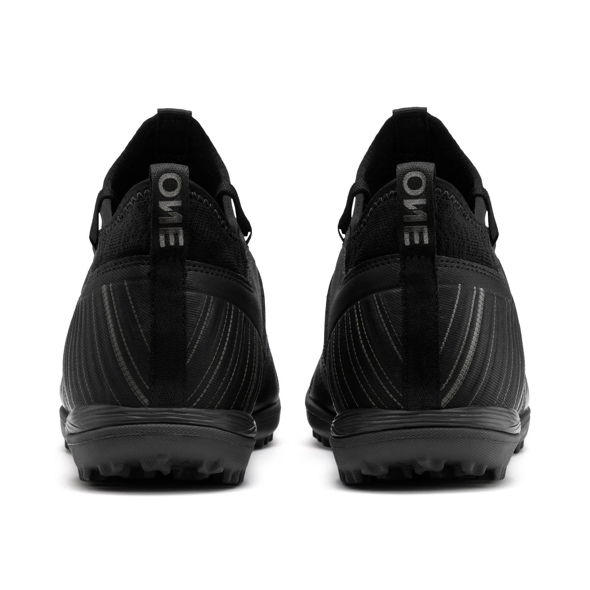 Thumbnail 4 of プーマ ワン 5.3 サッカー ターフトレーニング, Black-Black-Puma Aged Silver, medium-JPN