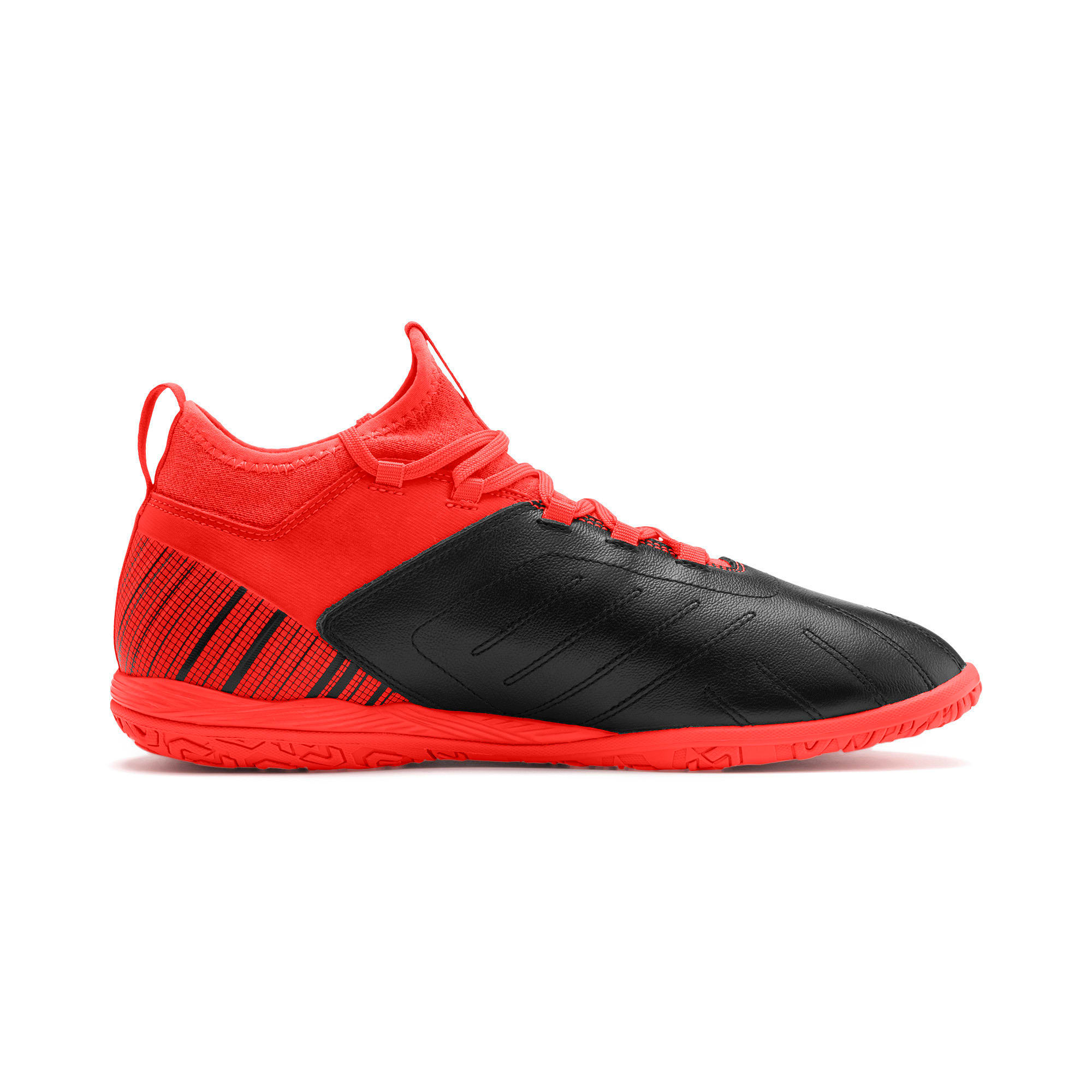 Thumbnail 6 of PUMA ONE 5.3 IT Soccer Shoes, Black-Nrgy Red-Aged Silver, medium