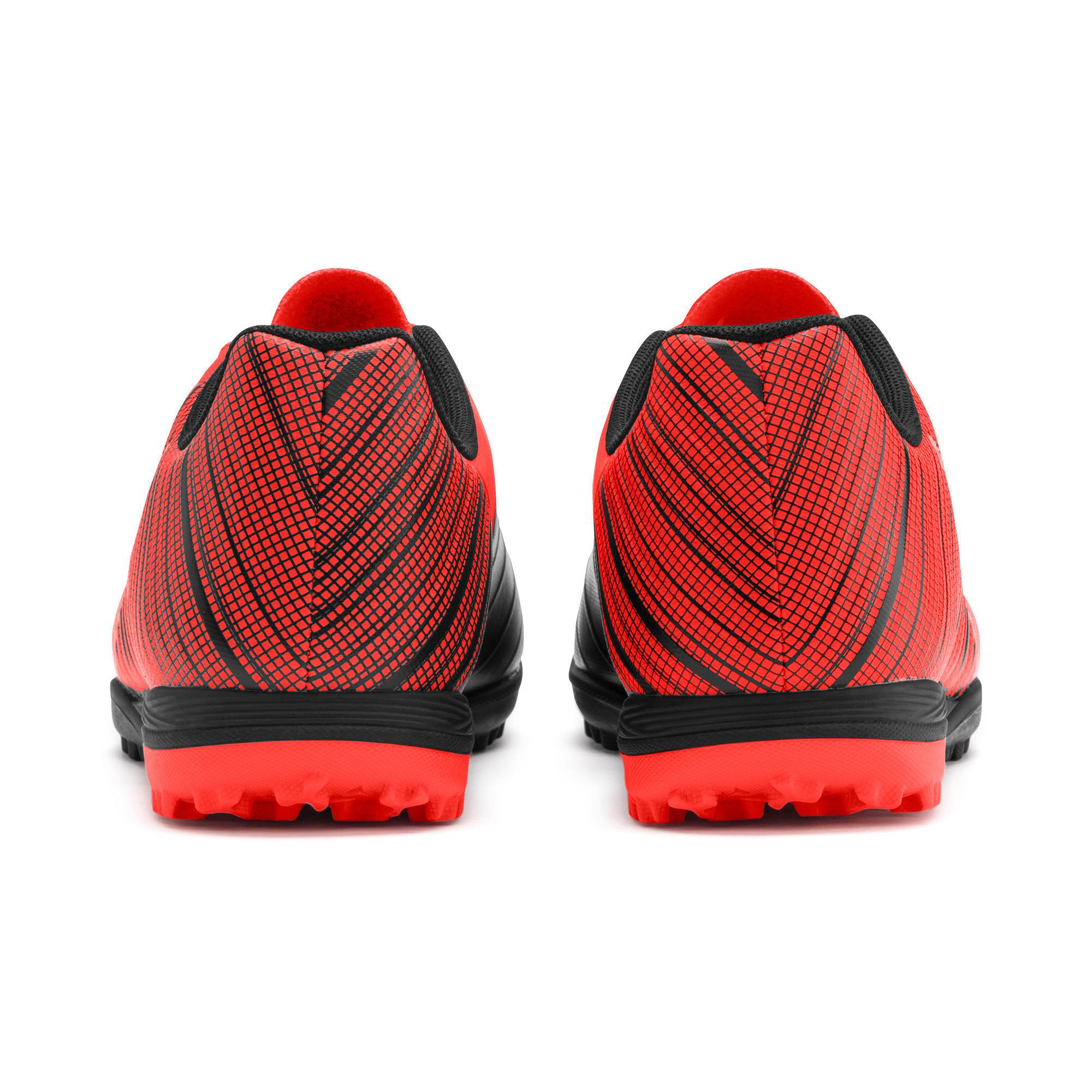 Thumbnail 4 of PUMA ONE 5.4 TT Men's Soccer Shoes, Black-Nrgy Red-Aged Silver, medium