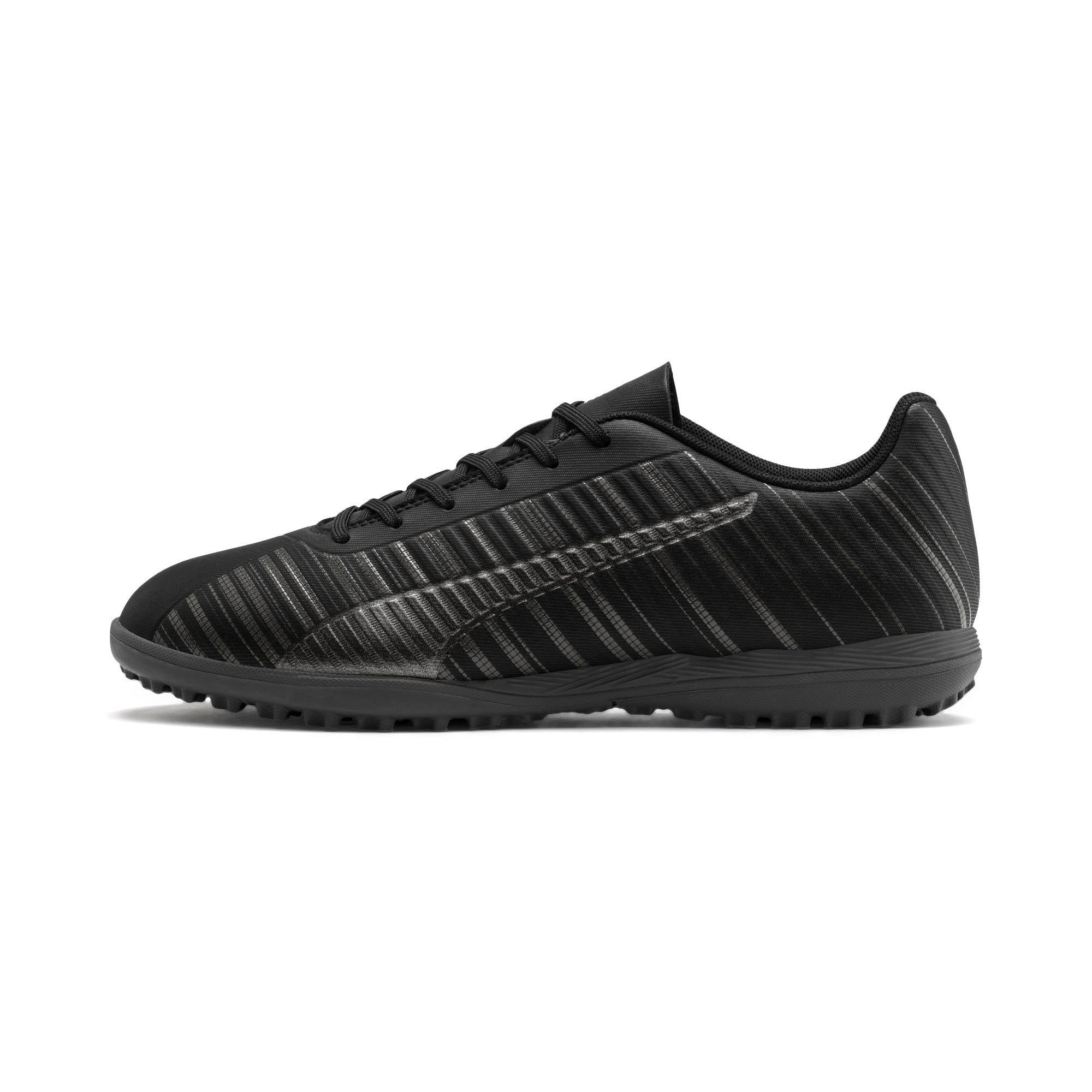 Thumbnail 1 of PUMA ONE 5.4 TT Men's Soccer Shoes, Black-Black-Puma Aged Silver, medium