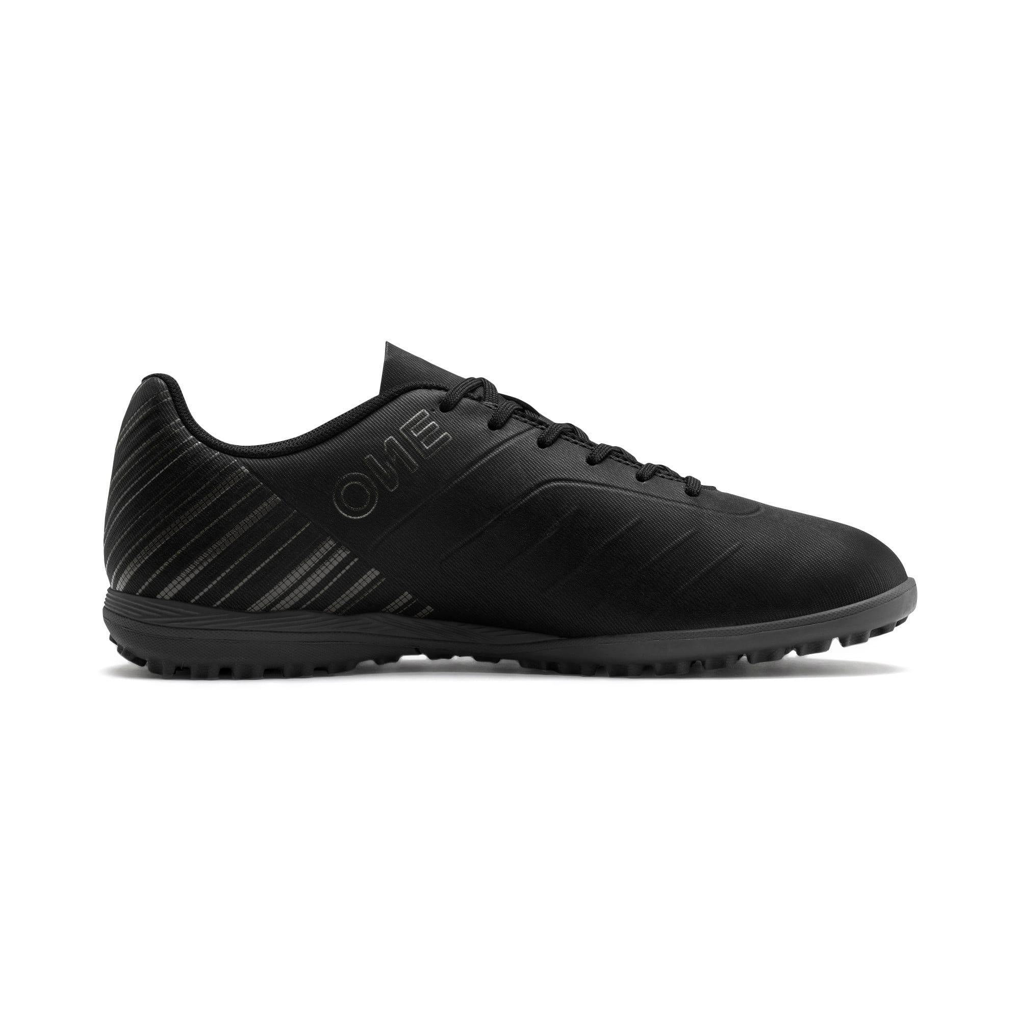 Thumbnail 6 of PUMA ONE 5.4 TT Men's Soccer Shoes, Black-Black-Puma Aged Silver, medium