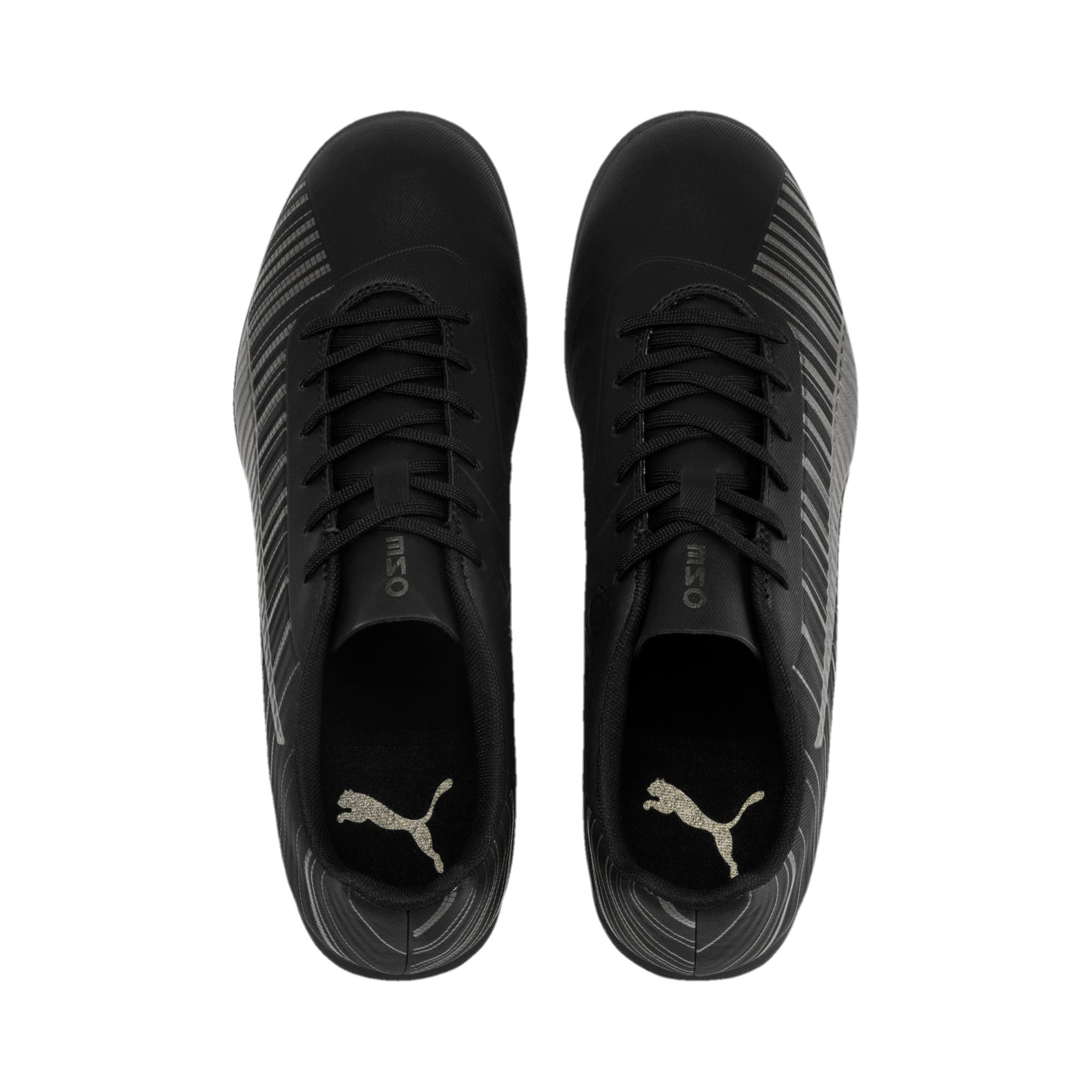 Thumbnail 7 of PUMA ONE 5.4 TT Men's Football Boots, Black-Black-Puma Aged Silver, medium