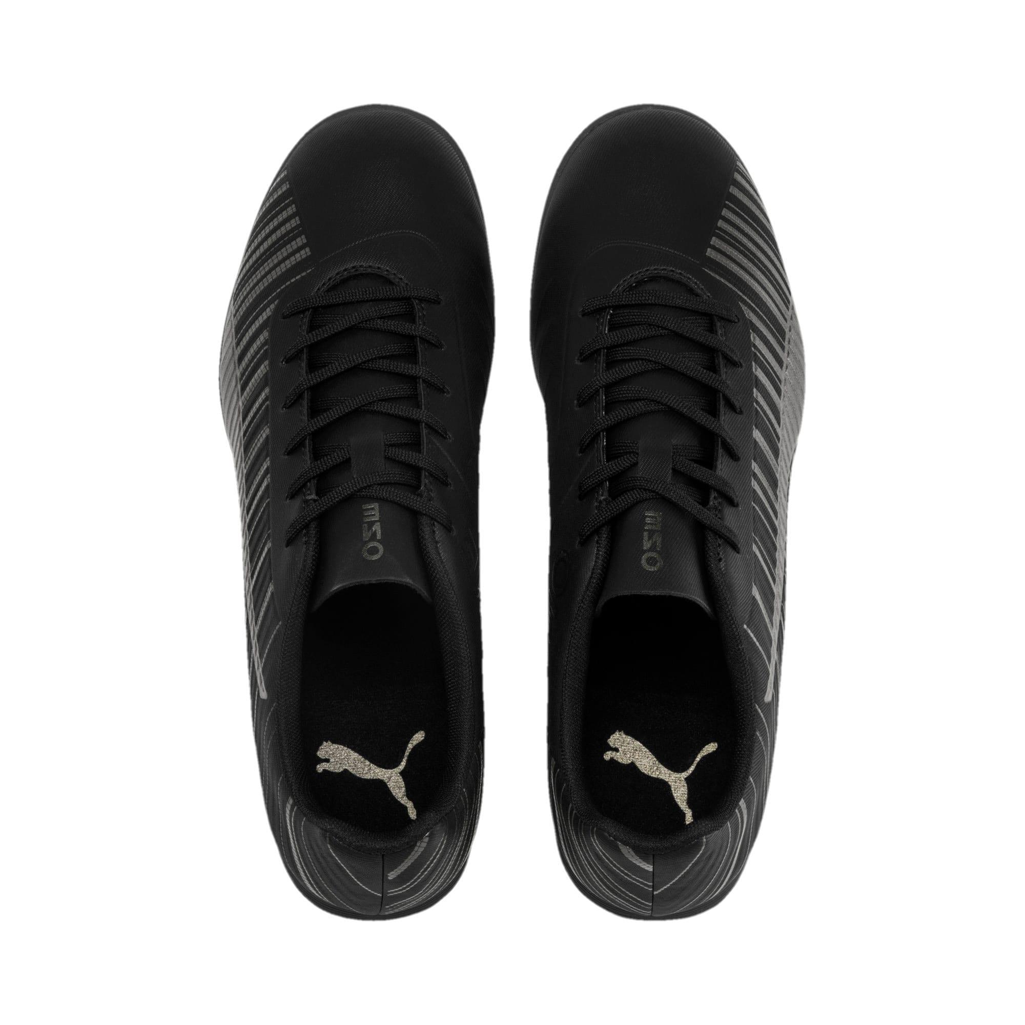 Thumbnail 7 of PUMA ONE 5.4 TT Men's Soccer Shoes, Black-Black-Puma Aged Silver, medium