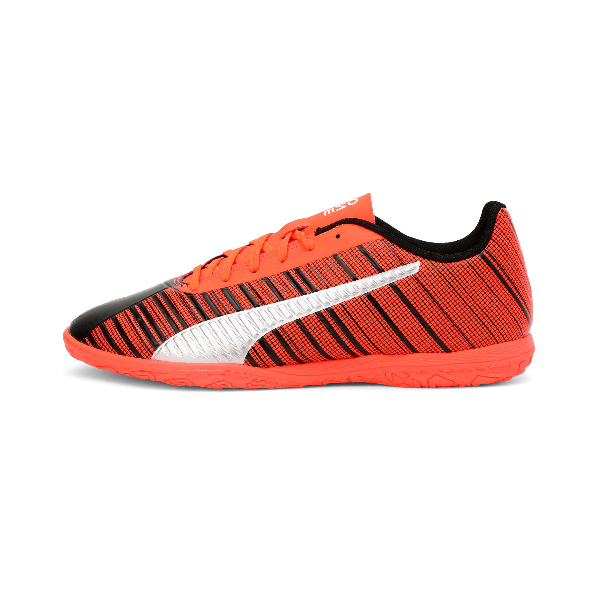Thumbnail 1 of PUMA ONE 5.4 IT Men's Football Boots, Black-Nrgy Red-Aged Silver, medium-IND
