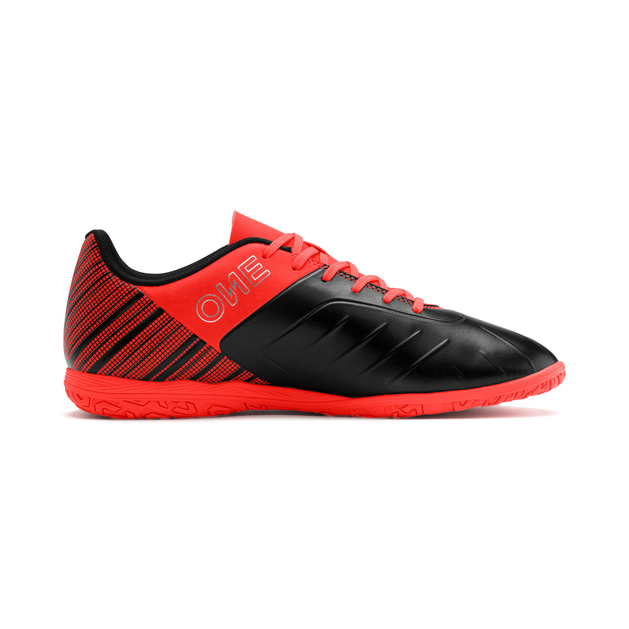 Thumbnail 7 of PUMA ONE 5.4 IT Men's Football Boots, Black-Nrgy Red-Aged Silver, medium-IND