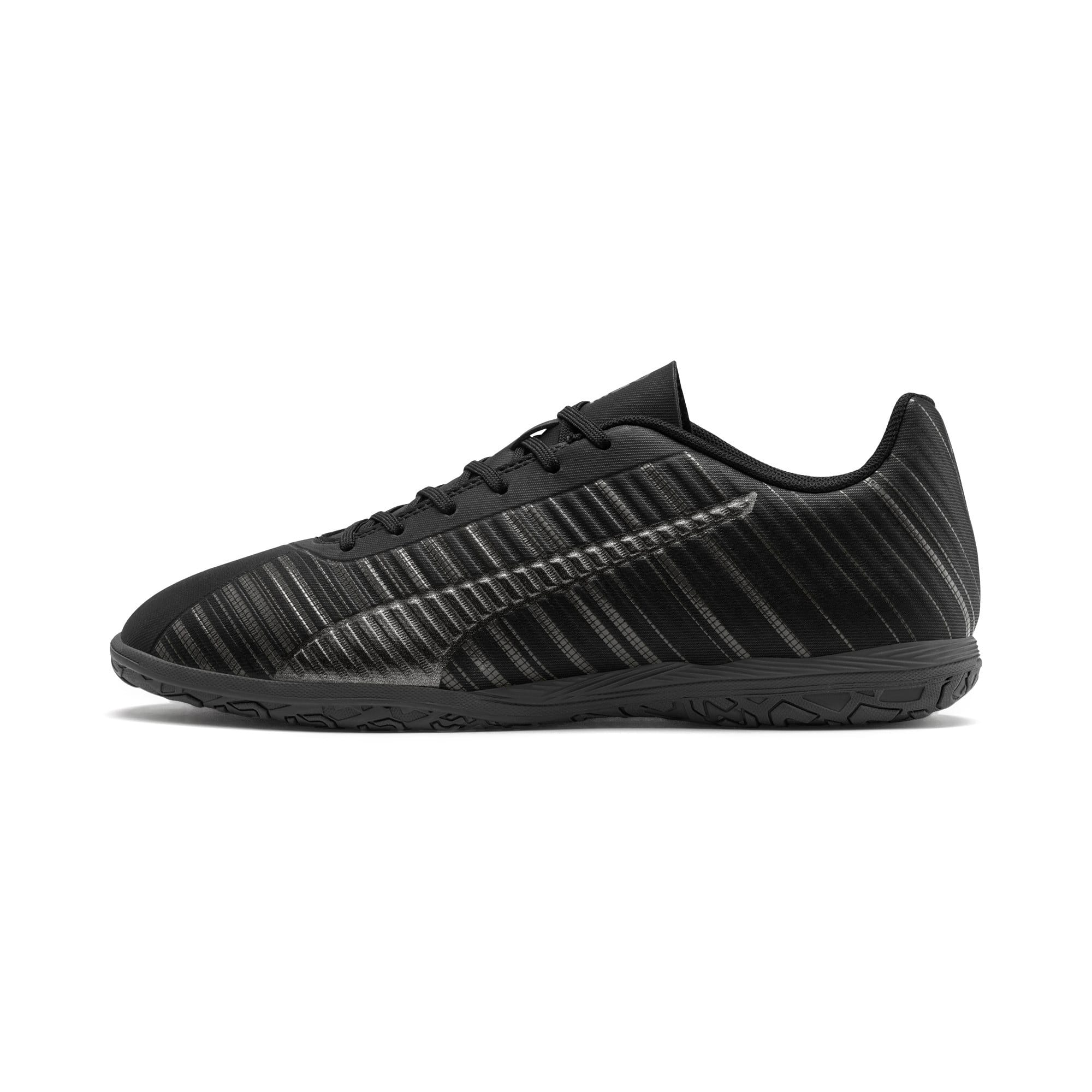 Thumbnail 1 of PUMA ONE 5.4 IT Men's Soccer Shoes, Black-Black-Puma Aged Silver, medium