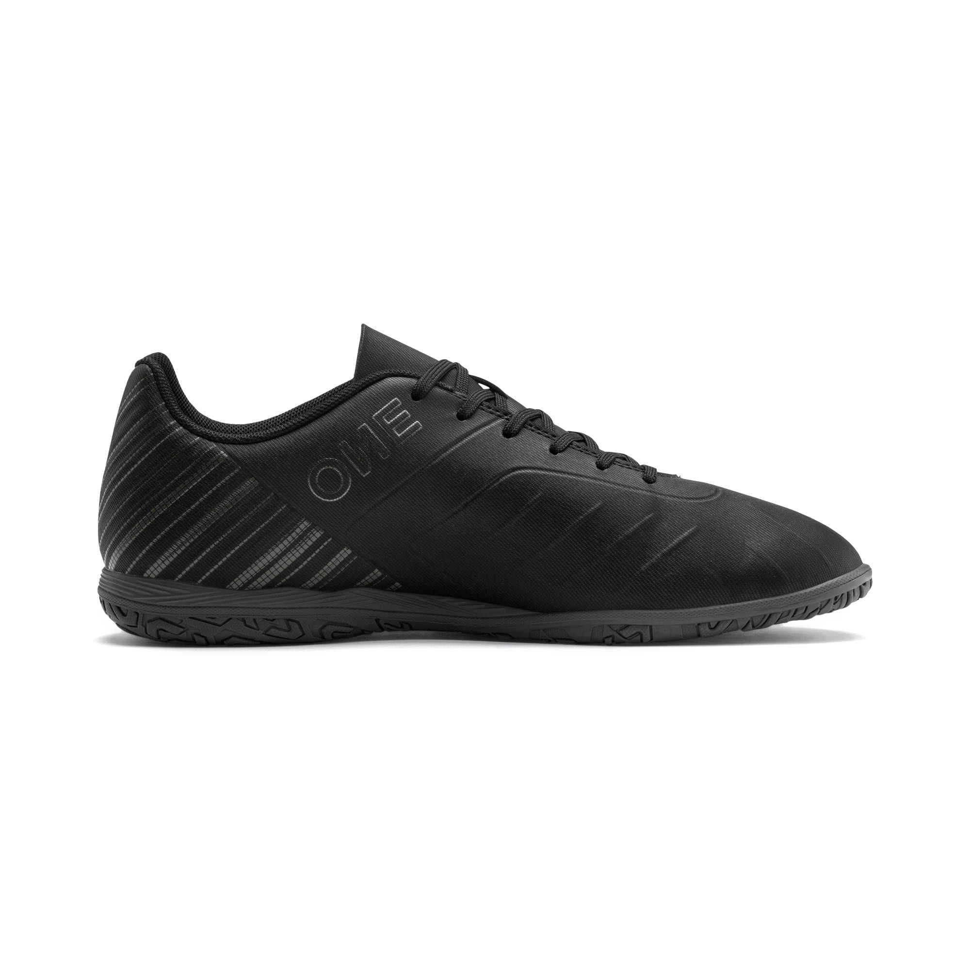 Thumbnail 6 of PUMA ONE 5.4 IT Men's Soccer Shoes, Black-Black-Puma Aged Silver, medium