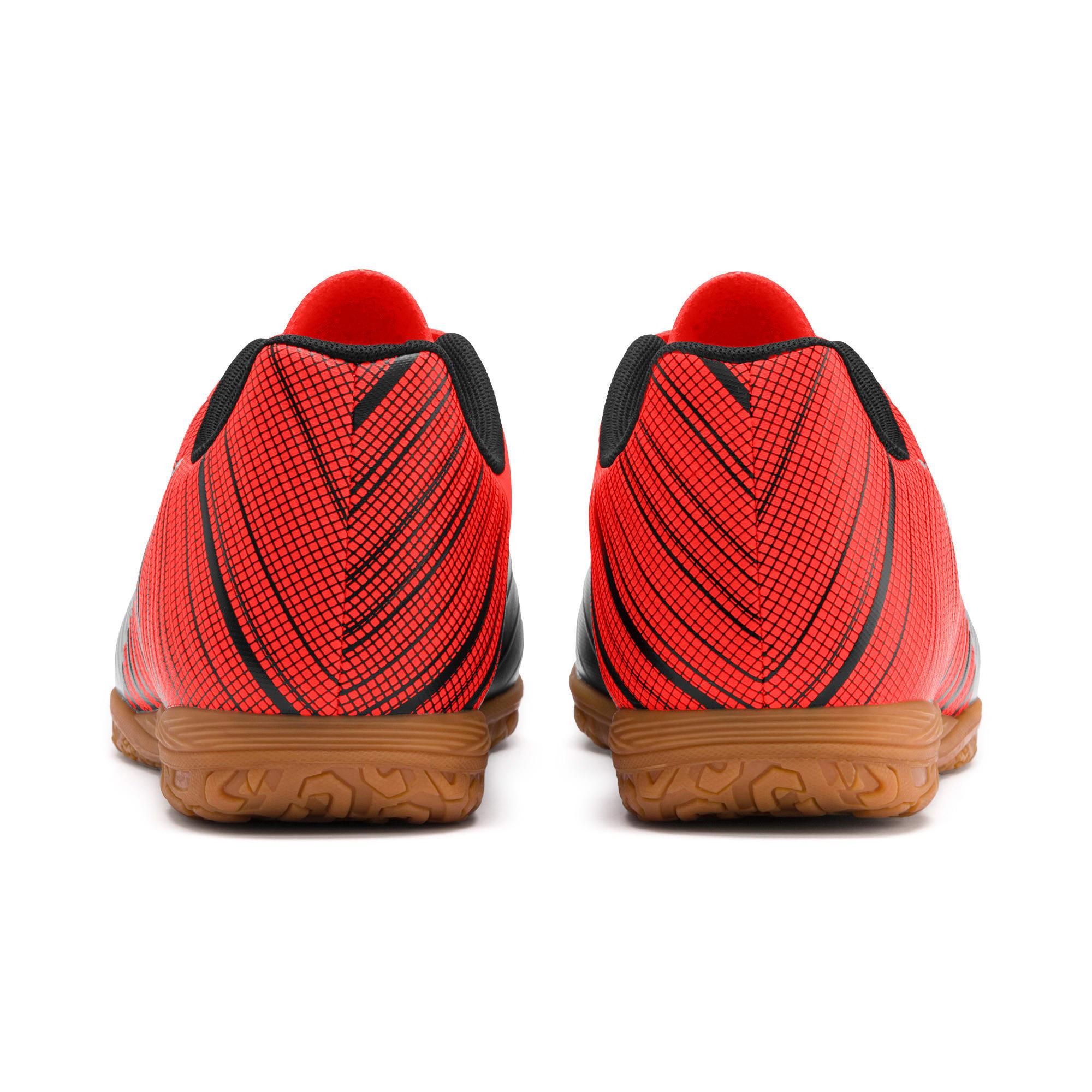 Thumbnail 4 of PUMA ONE 5.4 IT Men's Soccer Shoes, Black-Red-Silver-Gum, medium