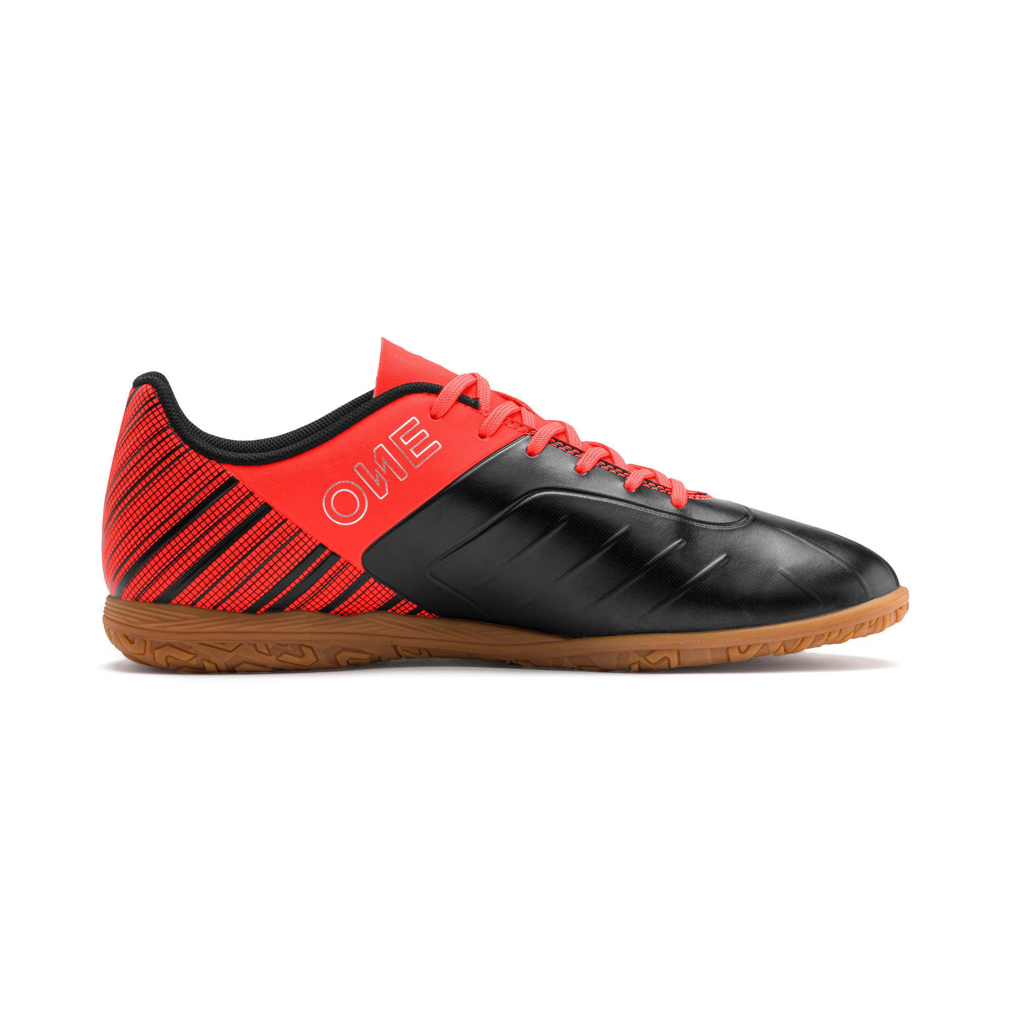 Thumbnail 6 of PUMA ONE 5.4 IT Men's Soccer Shoes, Black-Red-Silver-Gum, medium