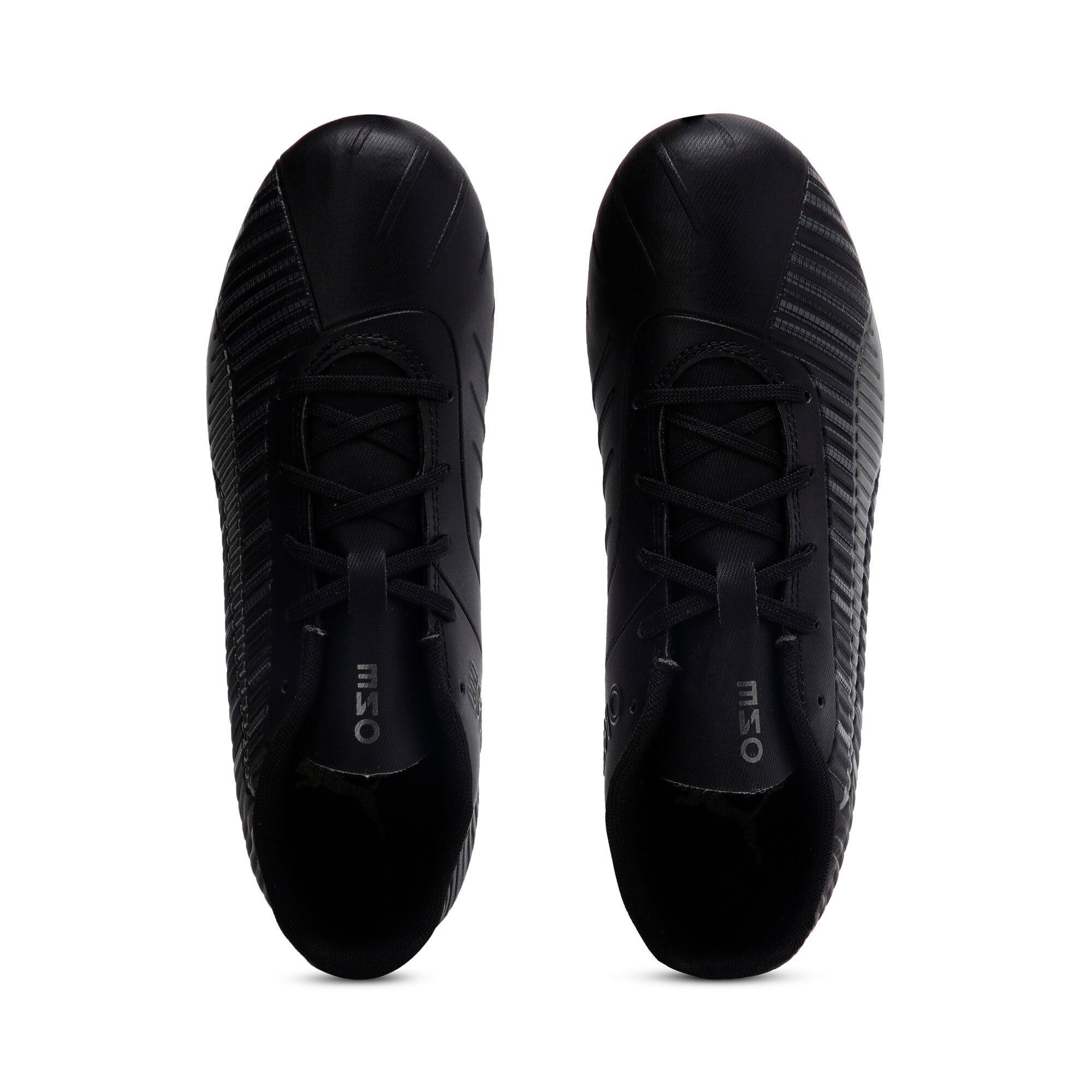 Thumbnail 6 of PUMA ONE 5.4 IT Youth Football Boots, Black-Black-Puma Aged Silver, medium-IND