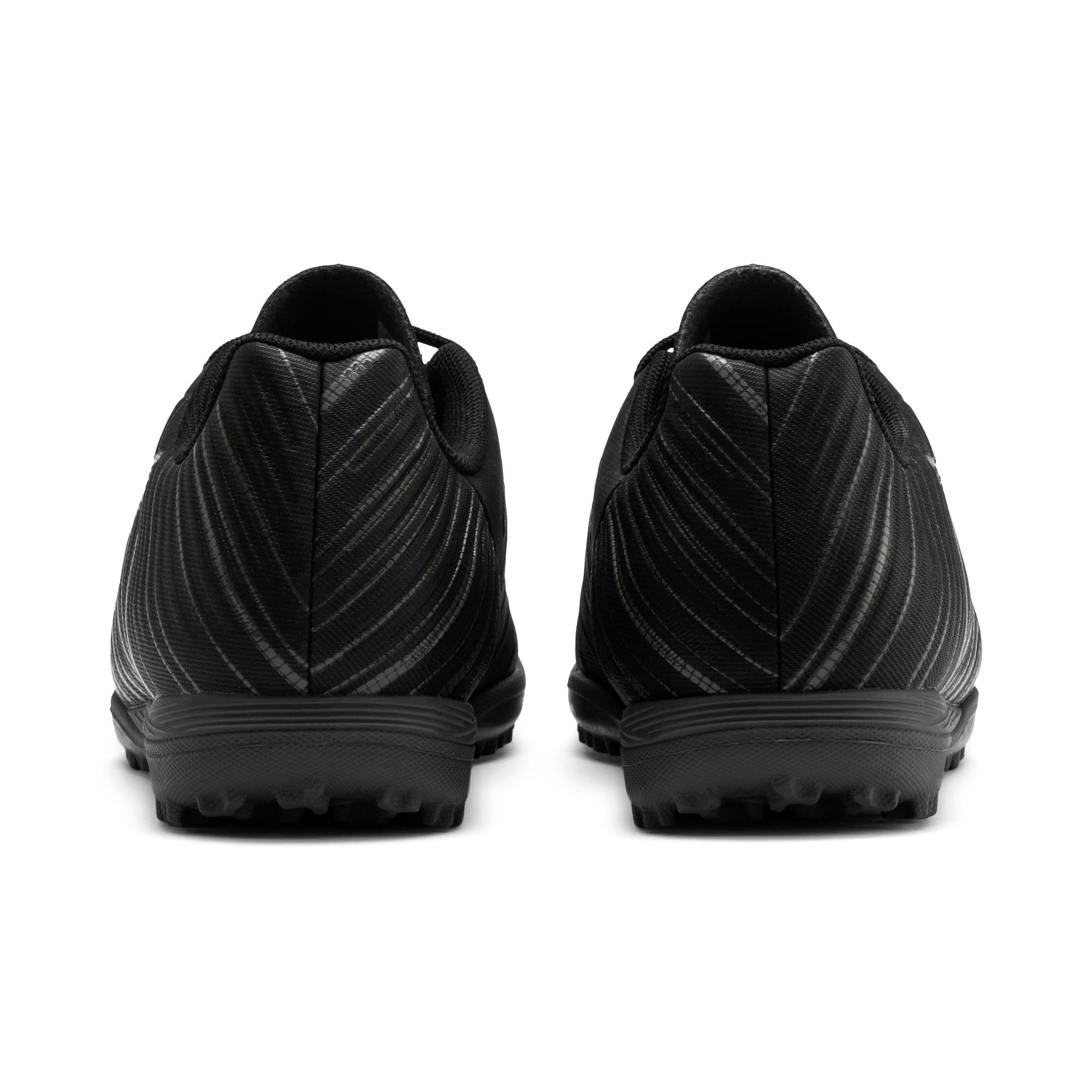 Thumbnail 3 of PUMA ONE 5.4 TT Youth Football Boots, Black-Black-Puma Aged Silver, medium