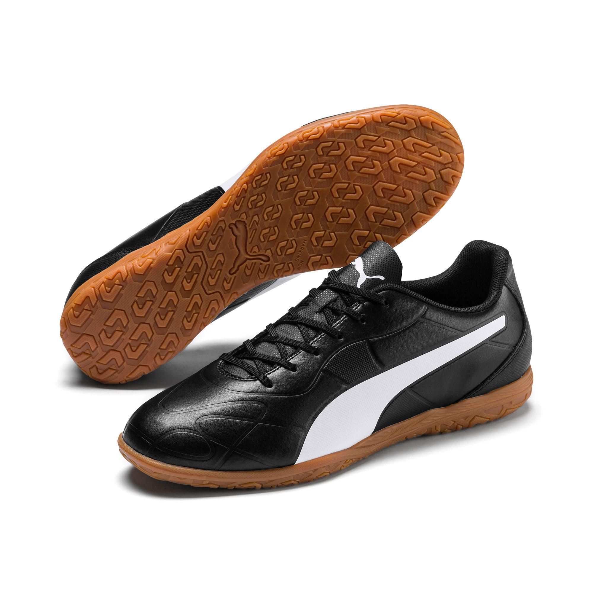 Thumbnail 4 of Monarch IT Men's Football Boots, Puma Black-Puma White, medium-IND