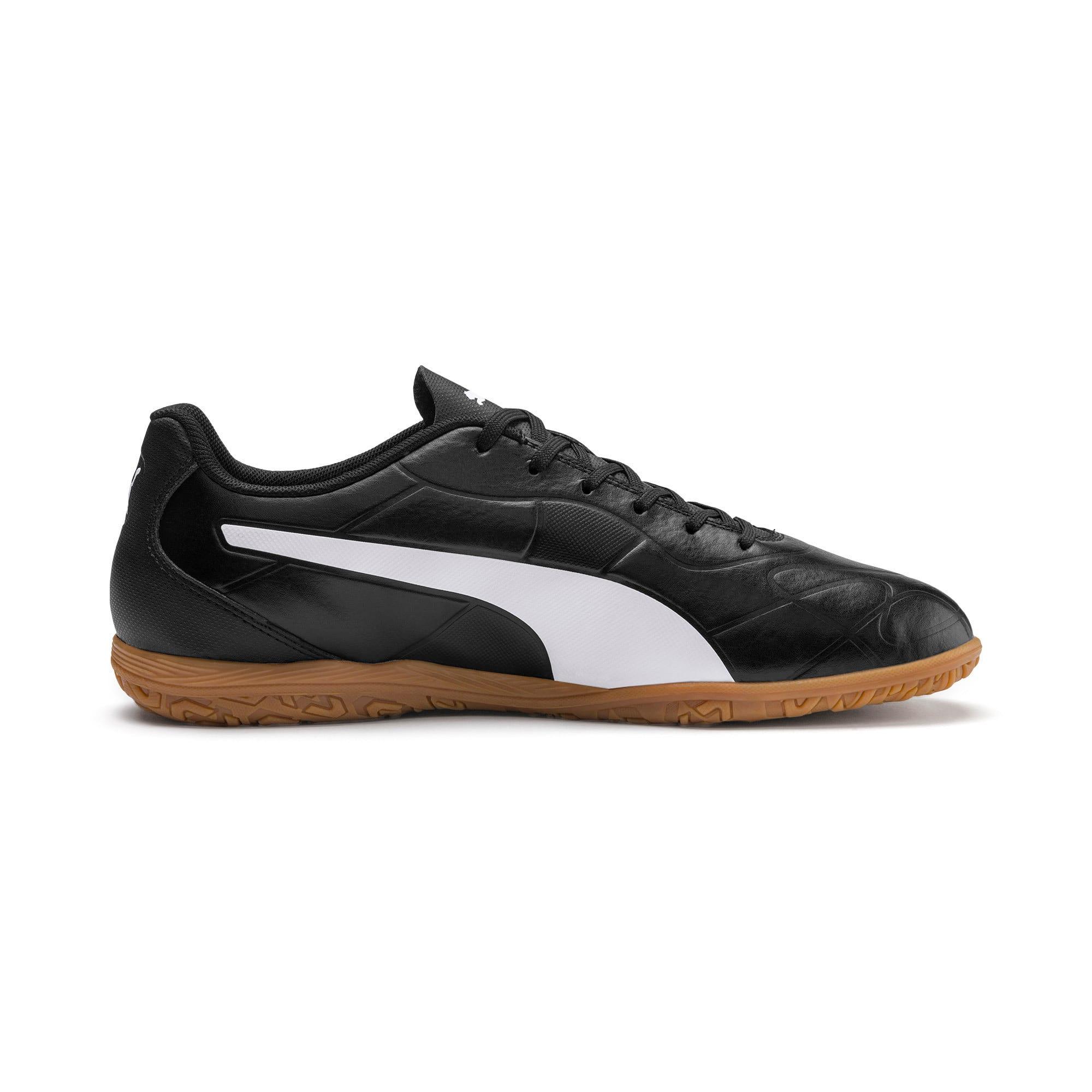 Thumbnail 7 of Monarch IT Men's Football Boots, Puma Black-Puma White, medium-IND