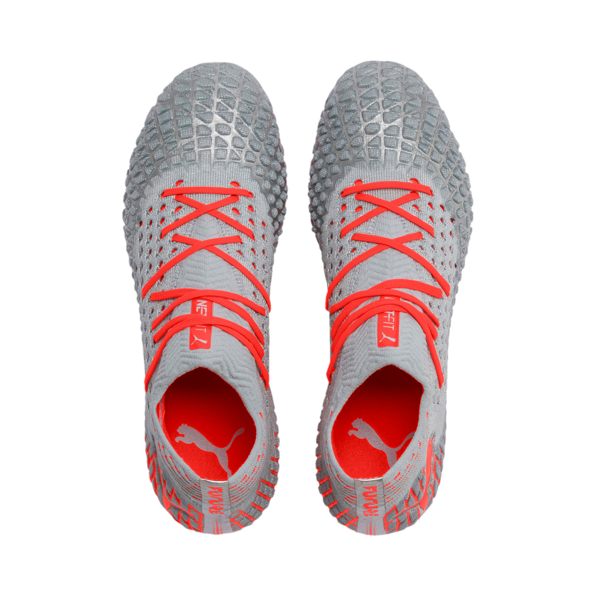 Thumbnail 7 of Chaussure de foot FUTURE 4.1 MxSG, Blue-Nrgy Red-High Risk Red, medium
