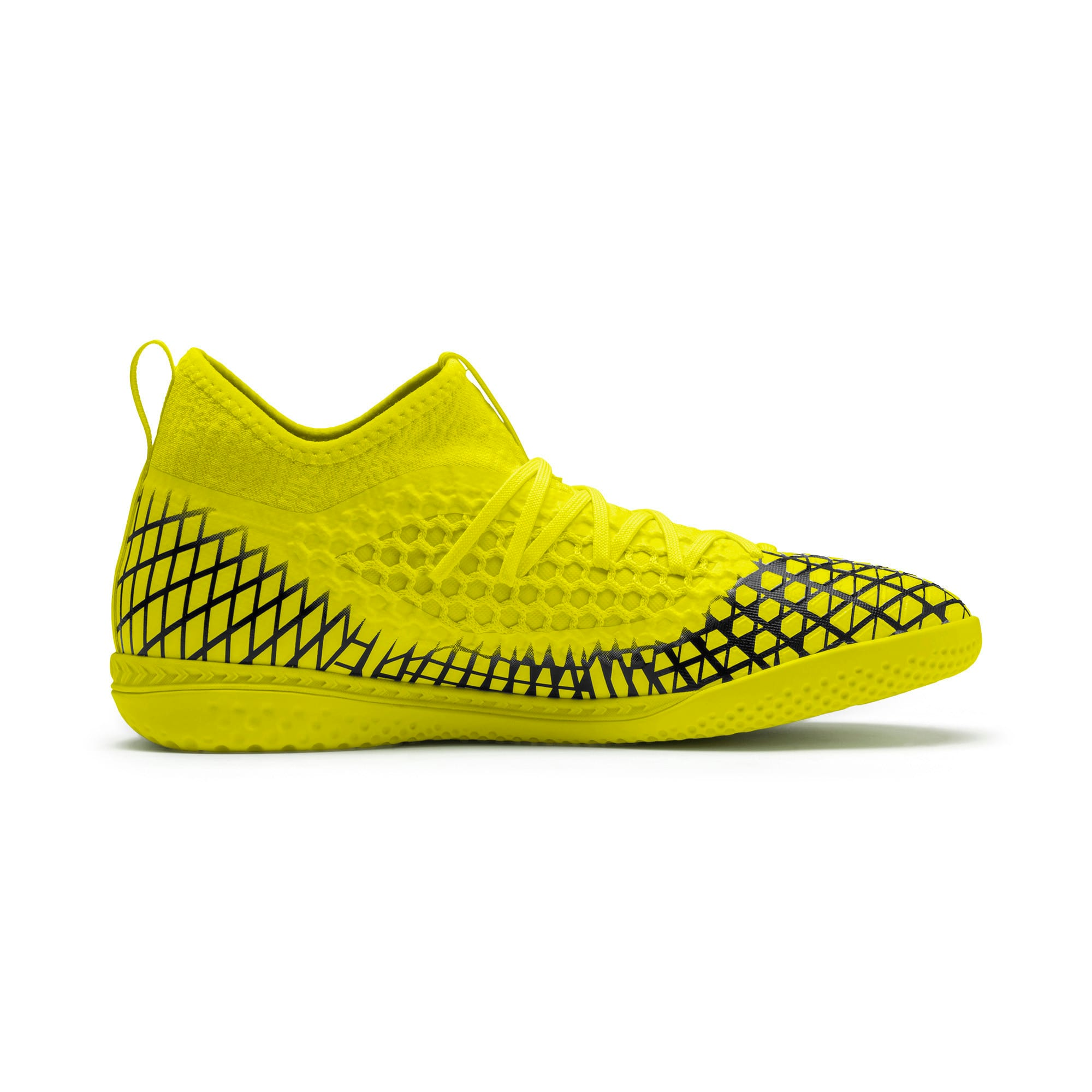 Thumbnail 6 of FUTURE 4.3 NETFIT IT Men's Football Boots, Yellow Alert-Puma Black, medium