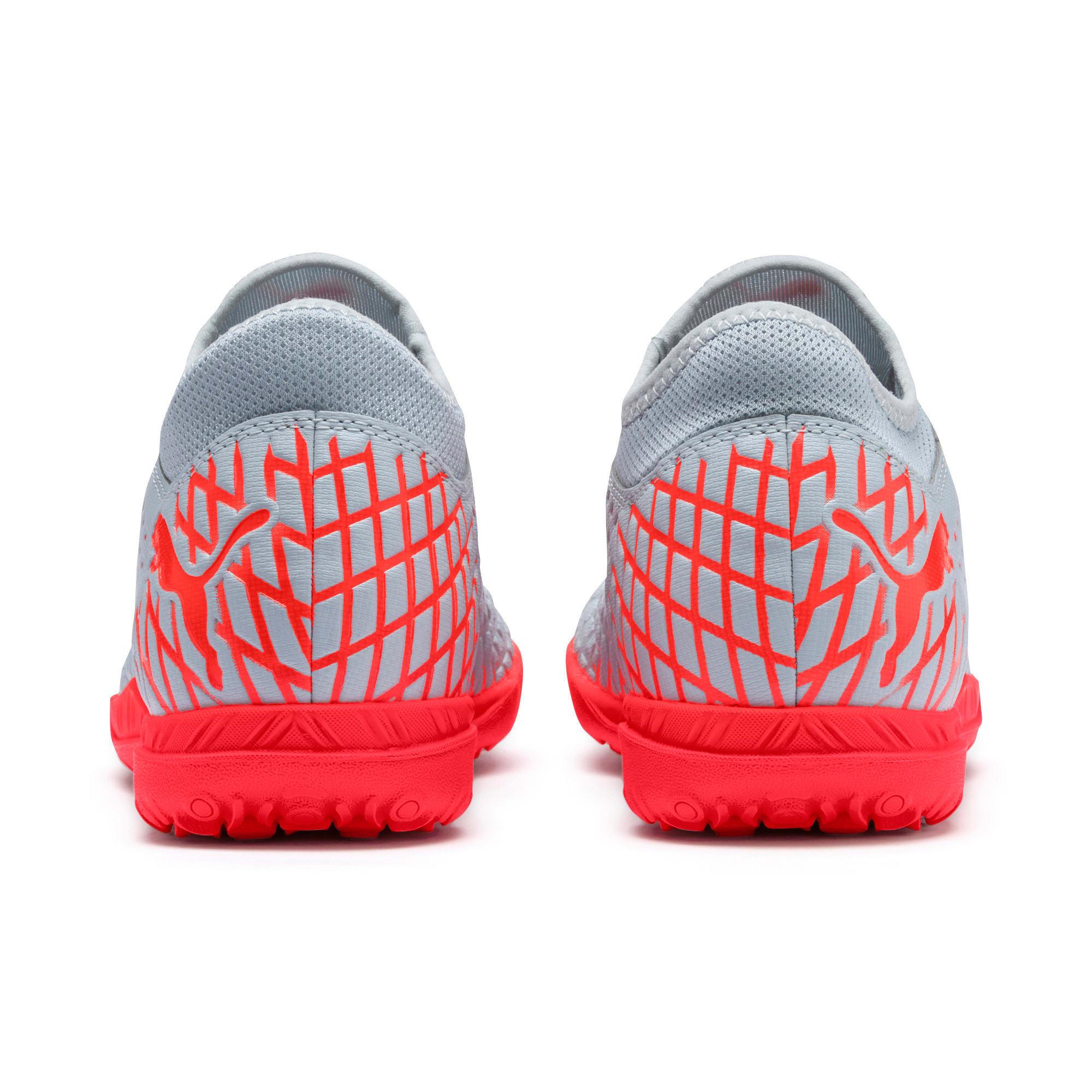 Thumbnail 4 of FUTURE 4.4 TT Men's Soccer Shoes, Glacial Blue-Nrgy Red, medium