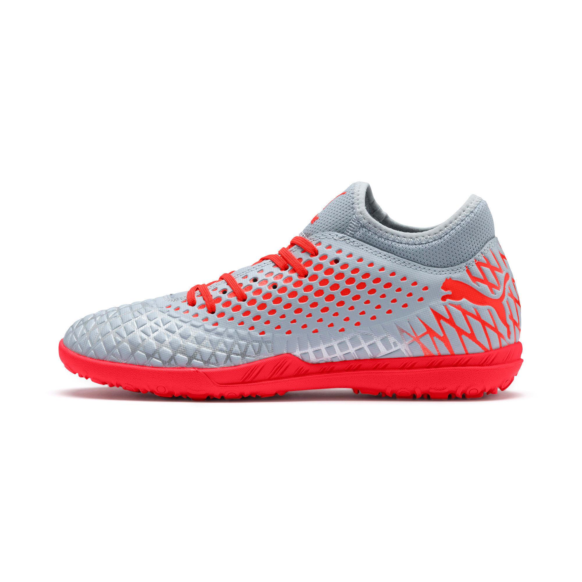 Thumbnail 1 of FUTURE 4.4 TT Men's Soccer Shoes, Glacial Blue-Nrgy Red, medium