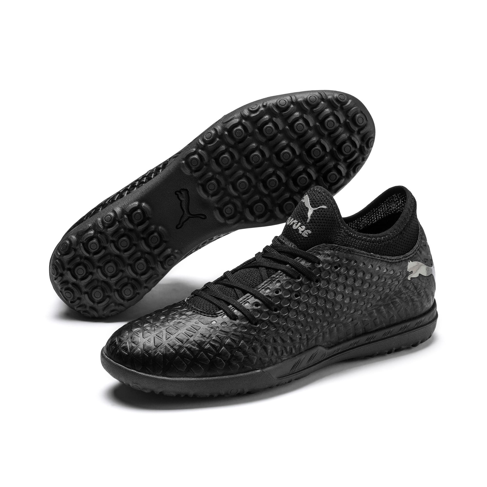 Thumbnail 3 of FUTURE 4.4 TT Men's Football Boots, Black-Black-Puma Aged Silver, medium