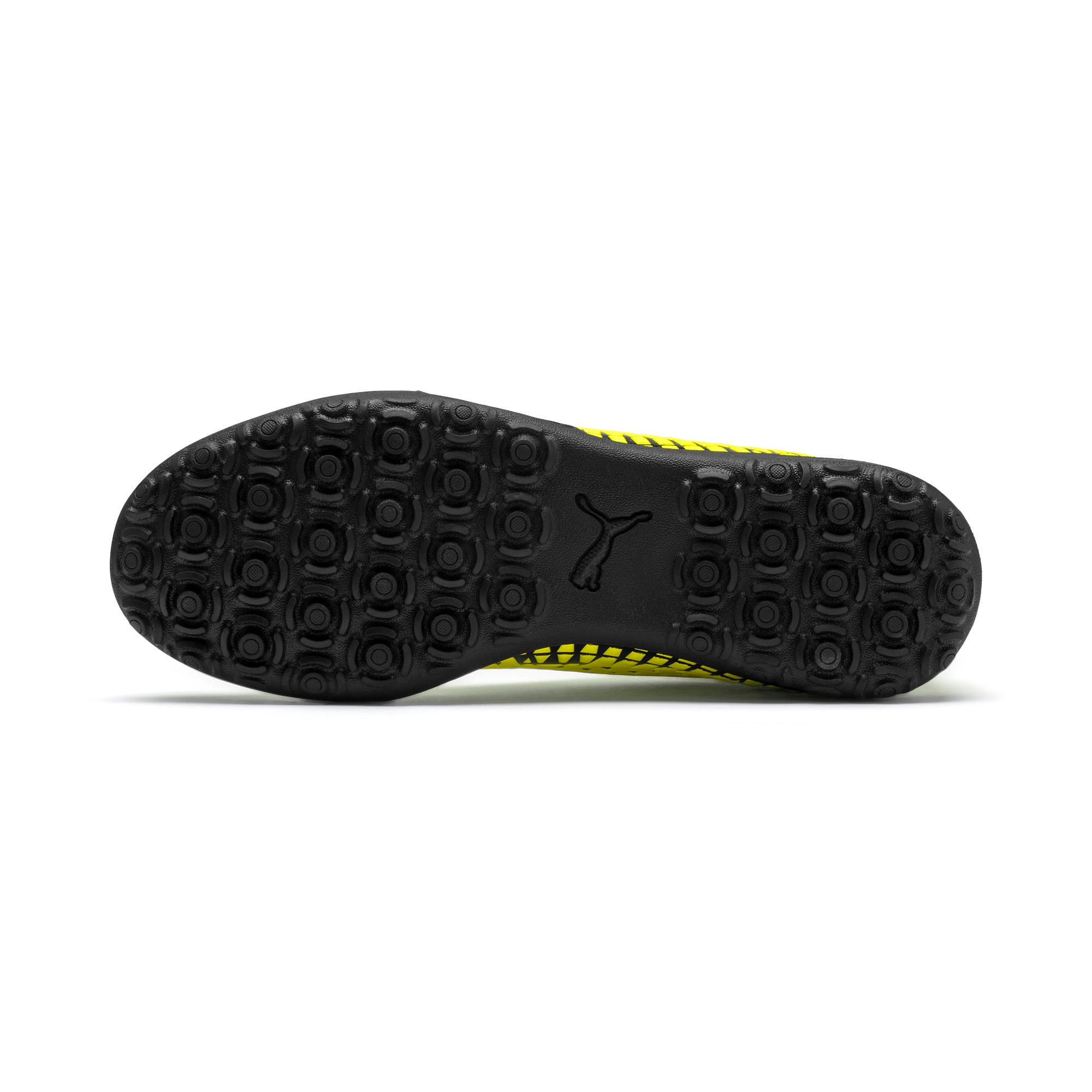 Thumbnail 5 of FUTURE 4.4 TT Men's Football Boots, Yellow Alert-Puma Black, medium