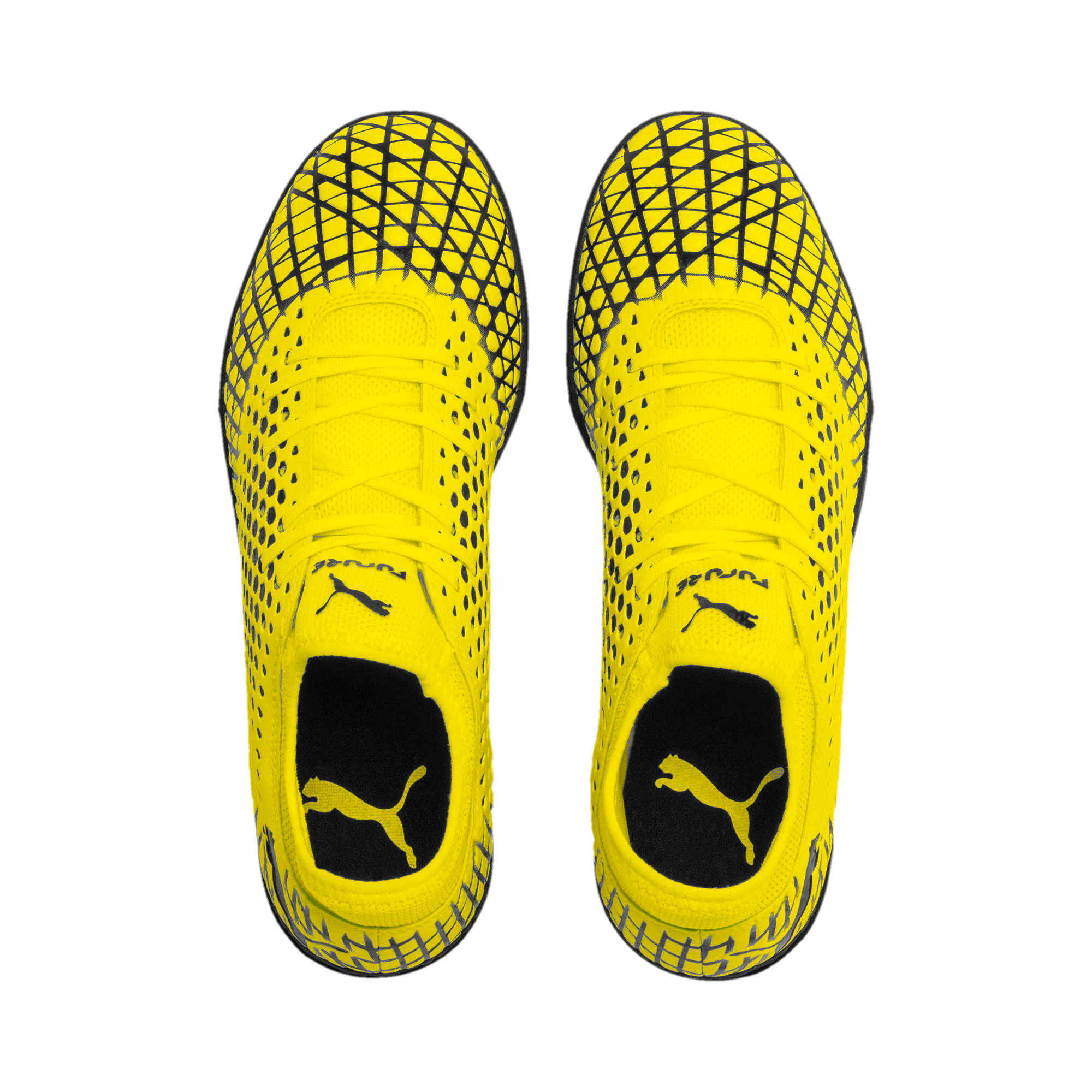 Thumbnail 7 of FUTURE 4.4 TT Men's Football Boots, Yellow Alert-Puma Black, medium