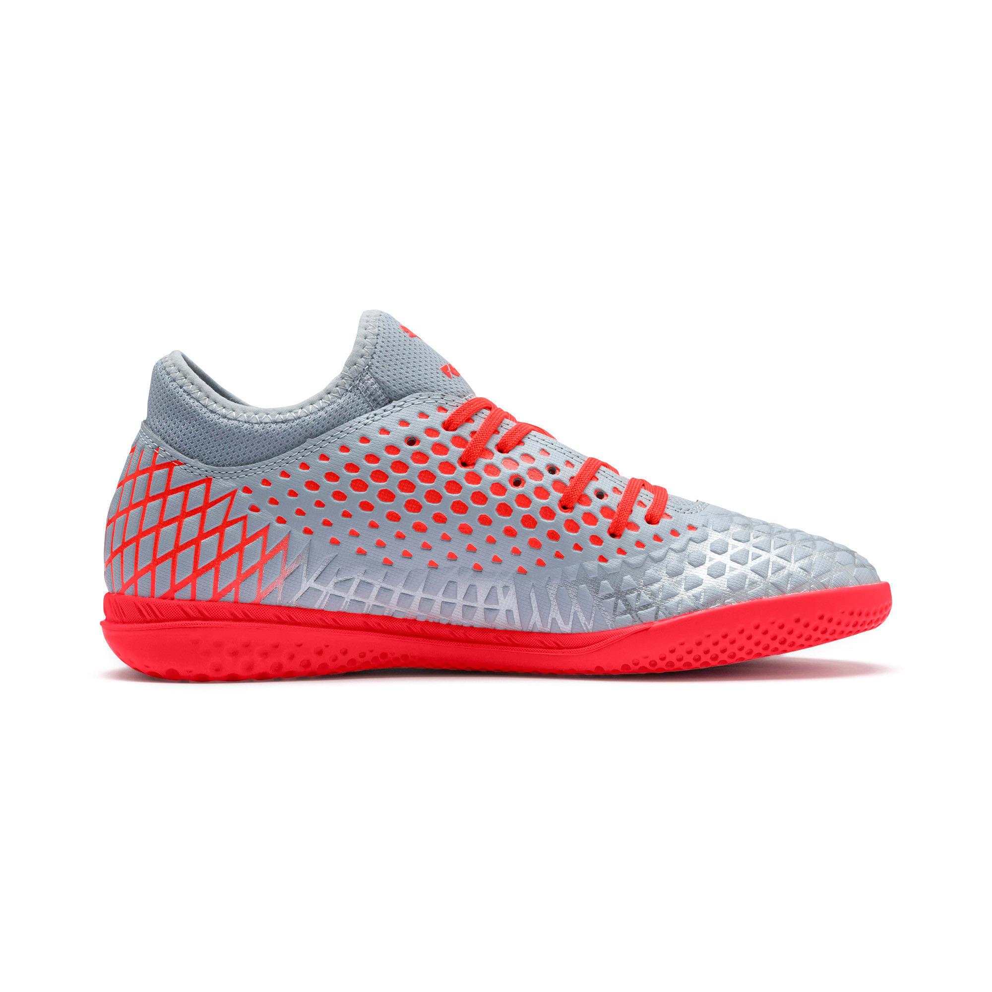 Thumbnail 6 of FUTURE 4.4 IT Men's Soccer Shoes, Glacial Blue-Nrgy Red, medium
